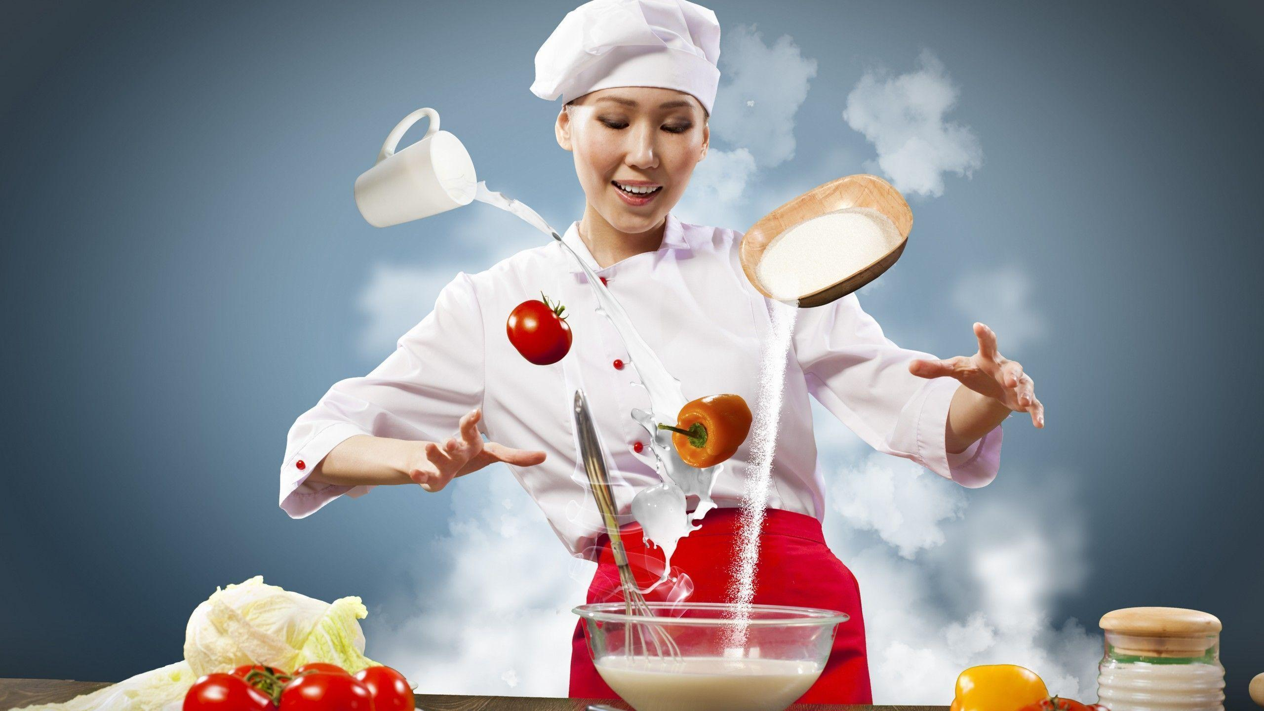 Chef Wallpapers, Top Beautiful Chef Images, 65-High Quality ...