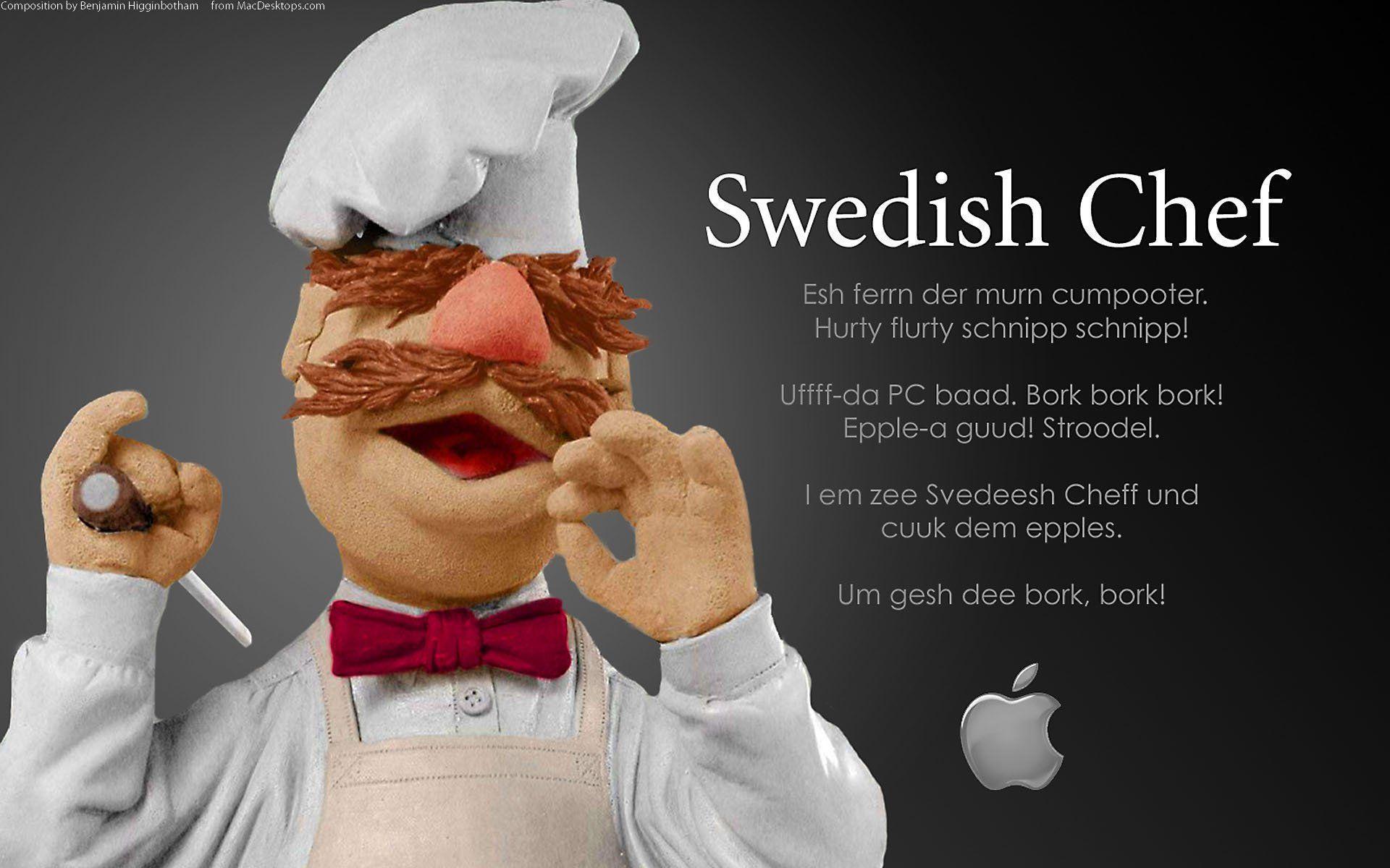 Swedish Chef Wallpaper