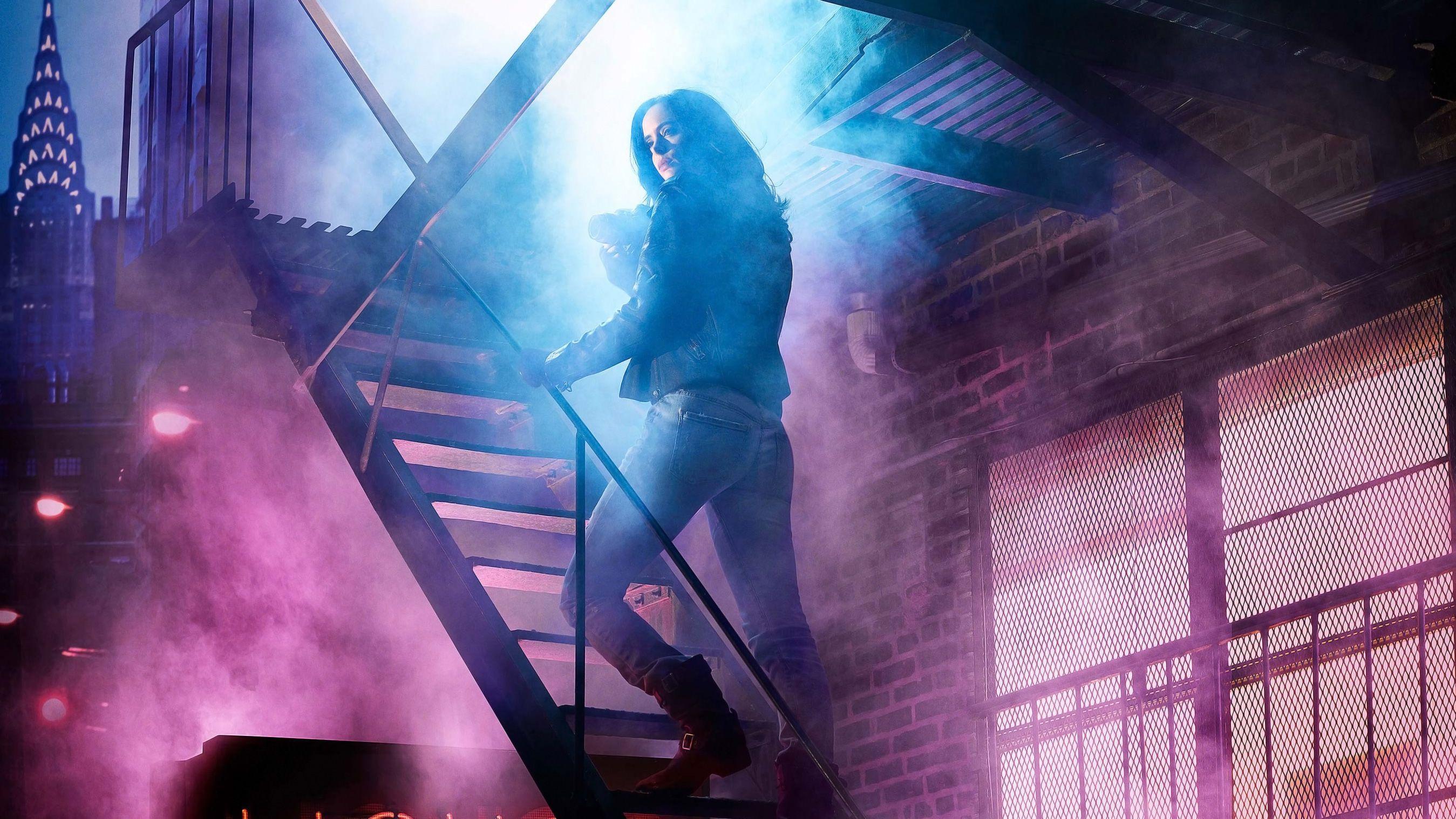 Wallpaper Krysten Ritter, Jessica Jones, The Defenders, HD, TV ...