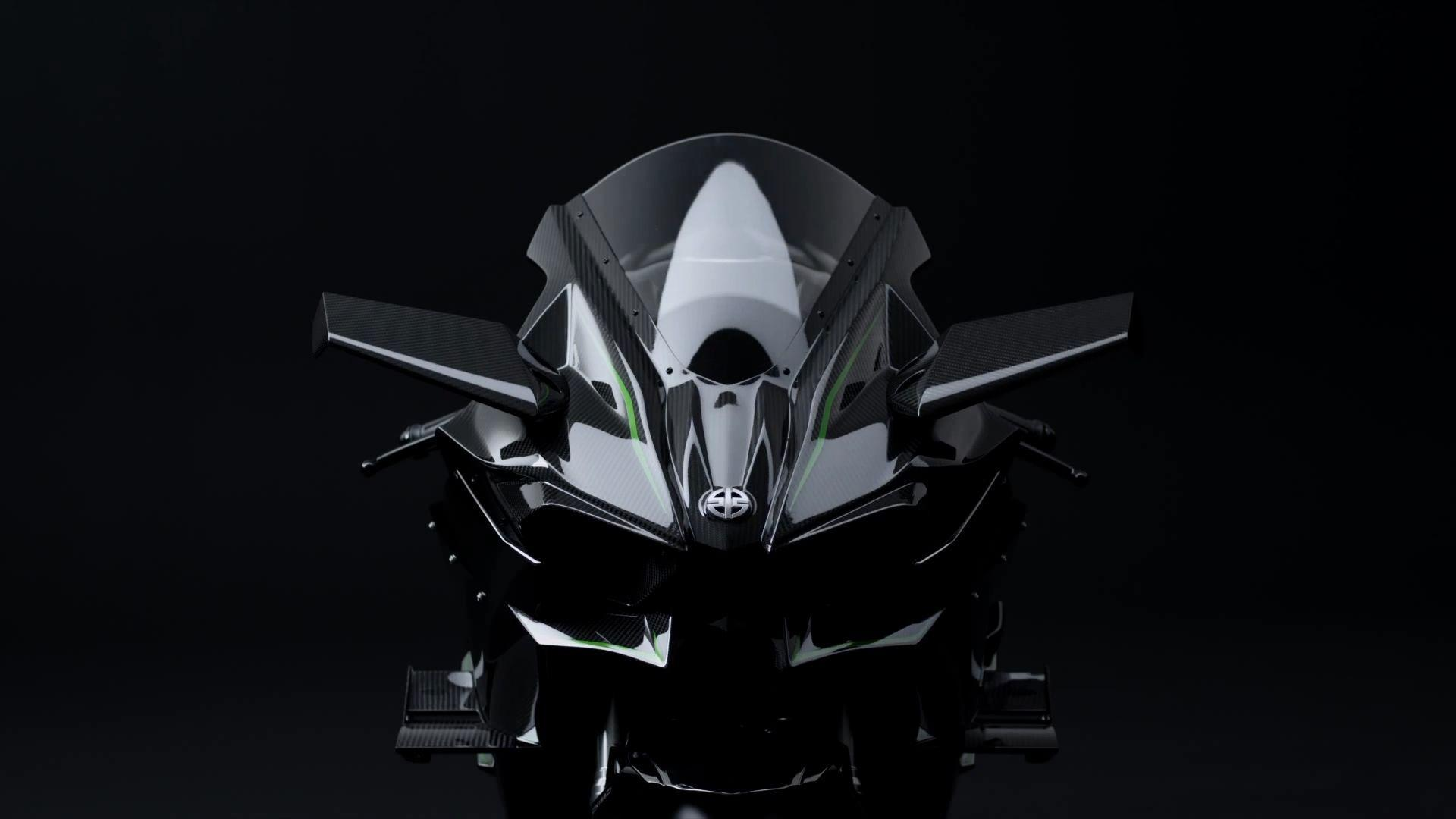Kawasaki Ninja H2R HD Wallpaper Download 3D 4K Kawasaki Ninja Bike ...