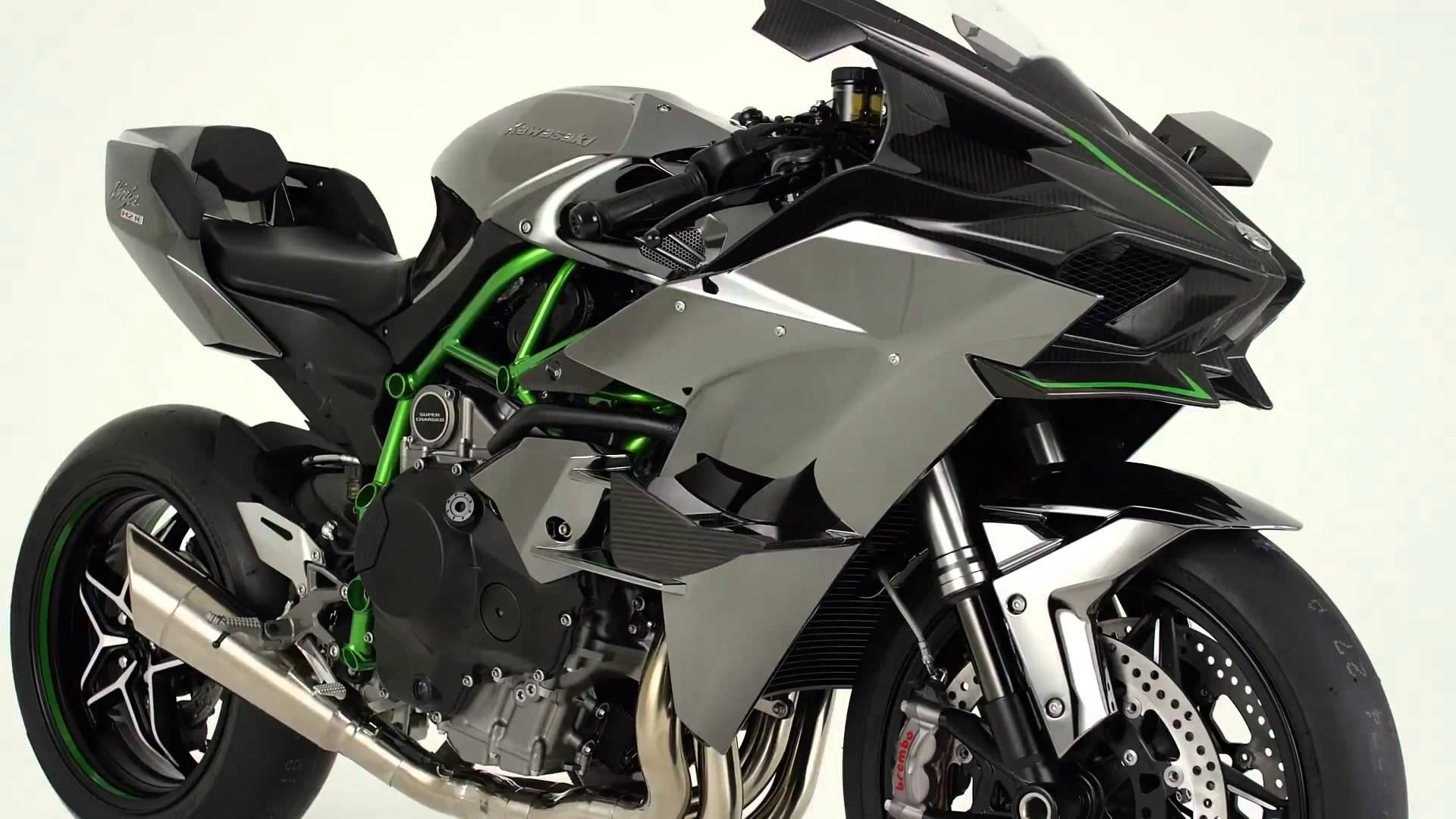 2015 Kawasaki Ninja H2R - YouTube