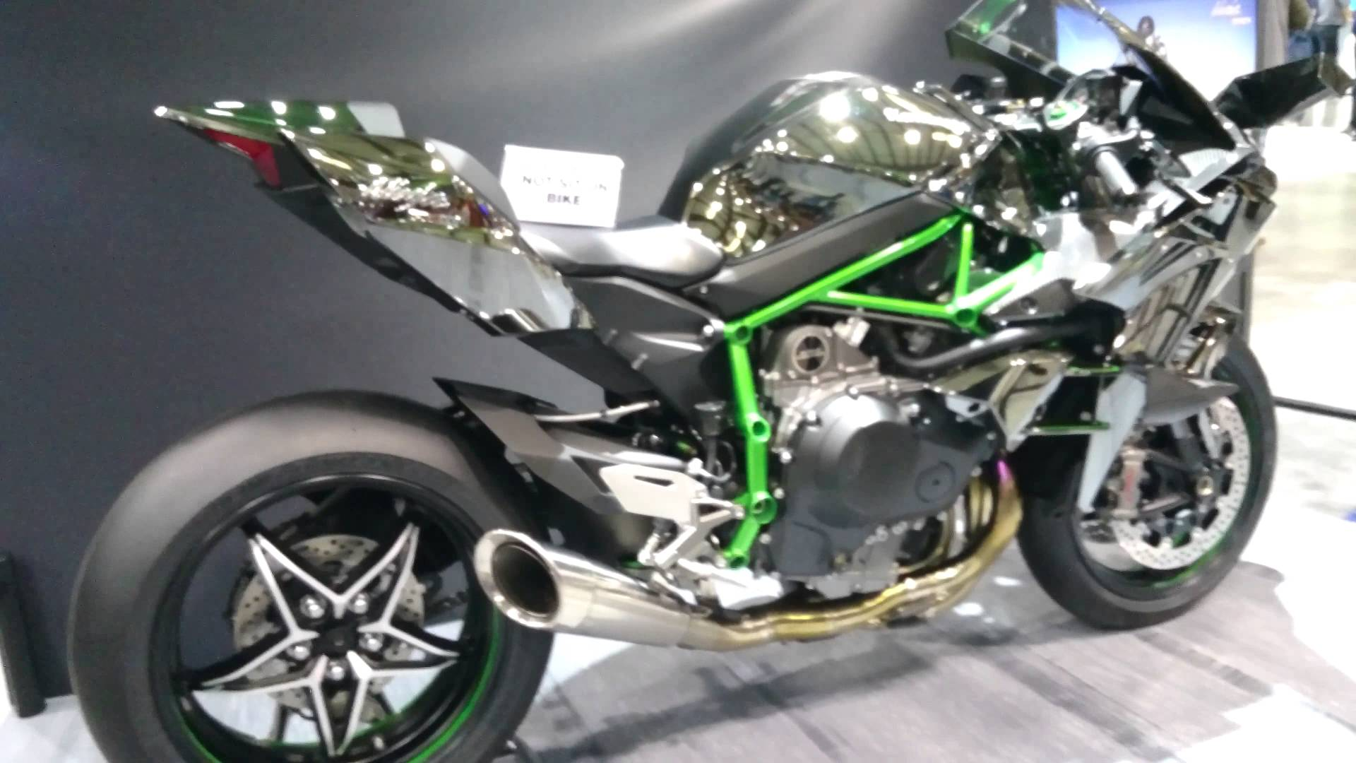 4k] 2015 Kawasaki Ninja H2R in Ultra HD 4k - YouTube