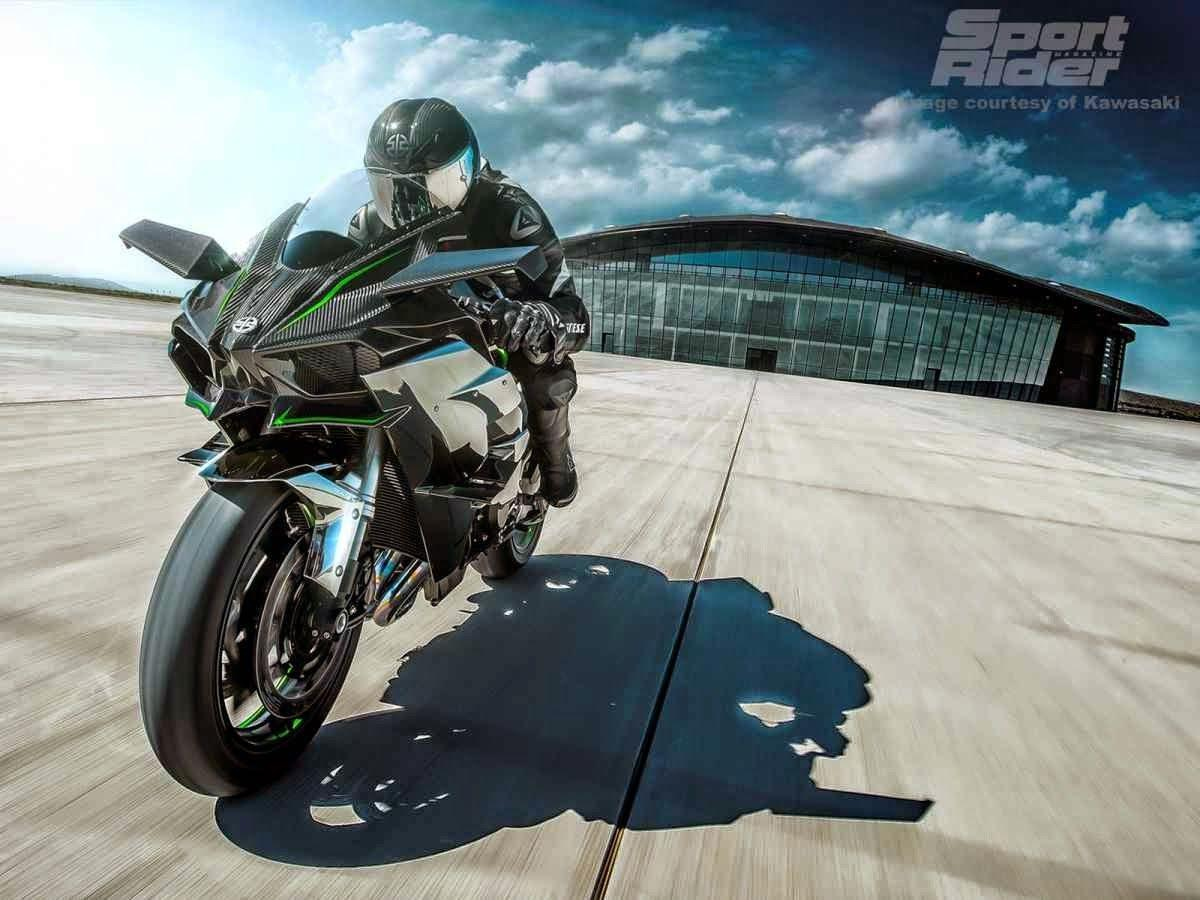Kawasaki Ninja H2R 2015 | INSPIRATIONS AREA