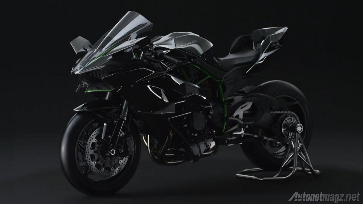 Kawasaki Ninja H2, Ninja Paling Brutal Dengan Mesin Supercharger