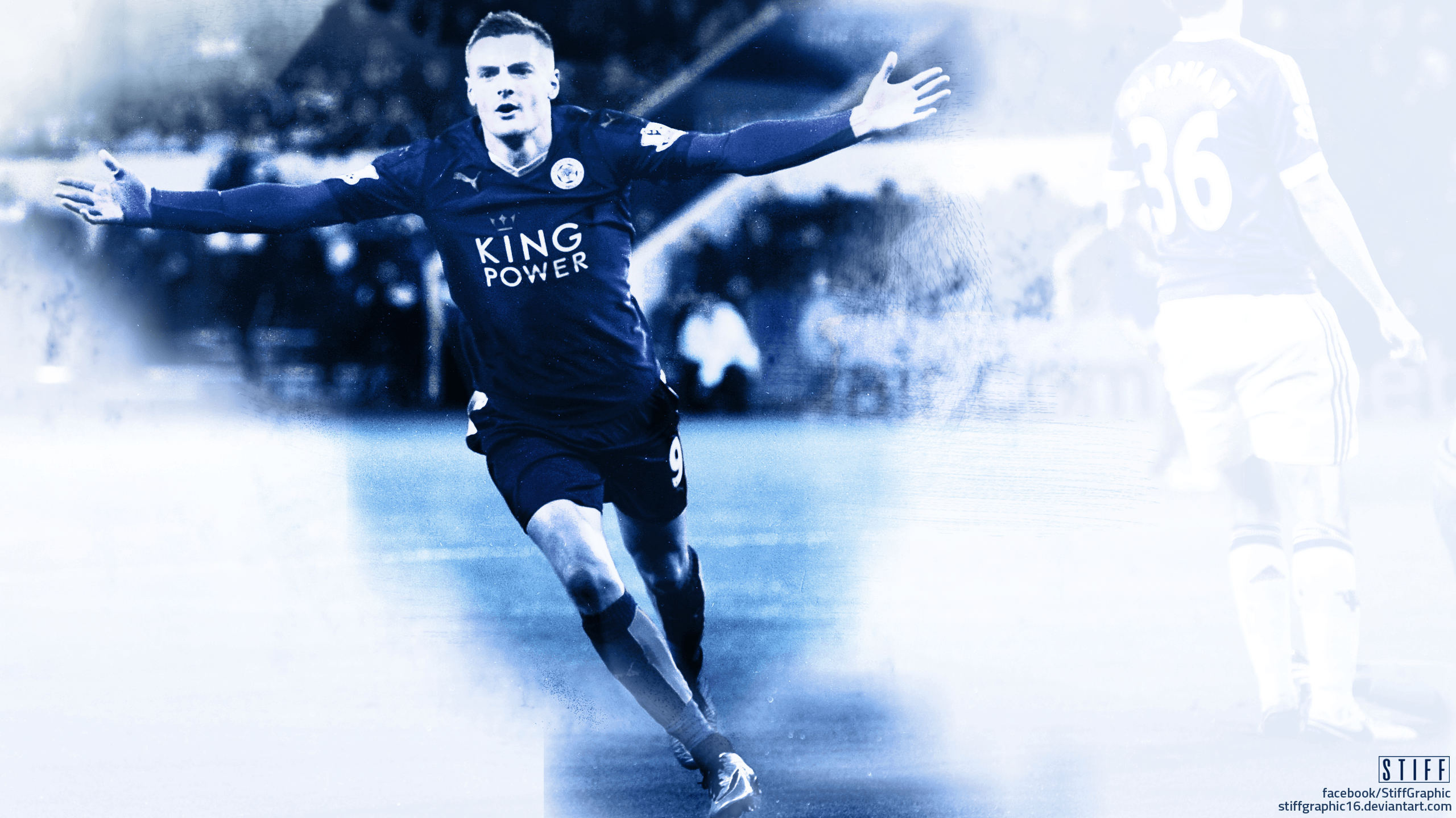 Jamie Vardy Effect - Wallpaper by stiffgraphic16 on DeviantArt