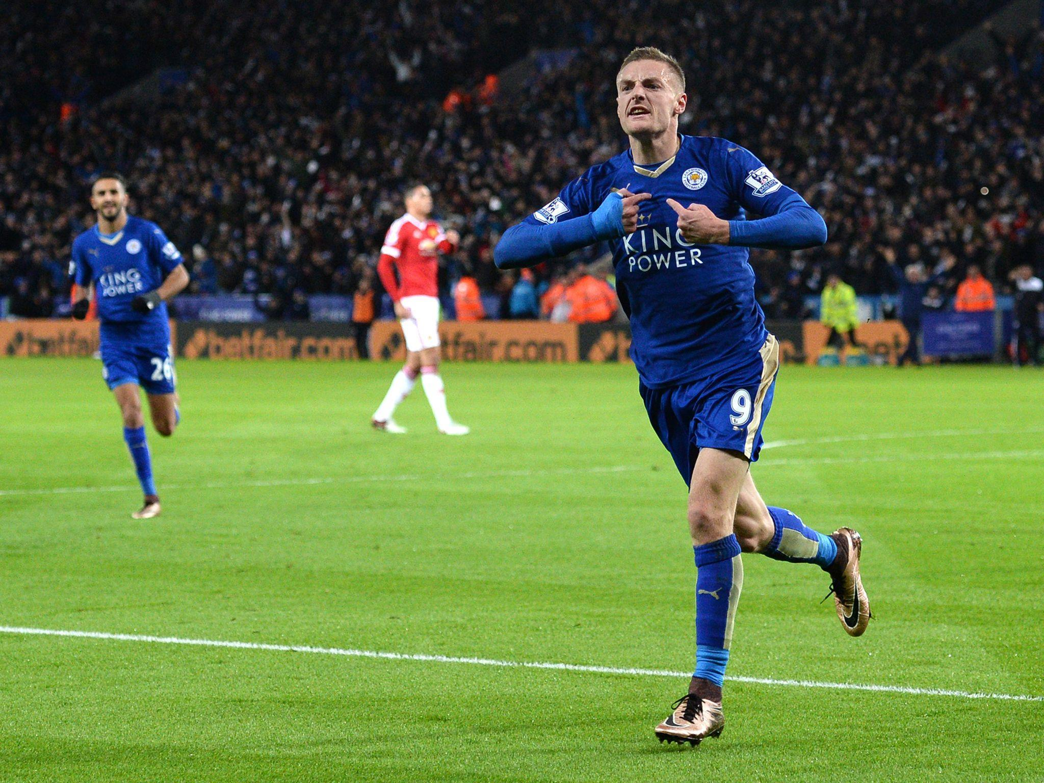 Wallpaper Jamie vardy, Footballer, Leicester city HD, Picture, Image