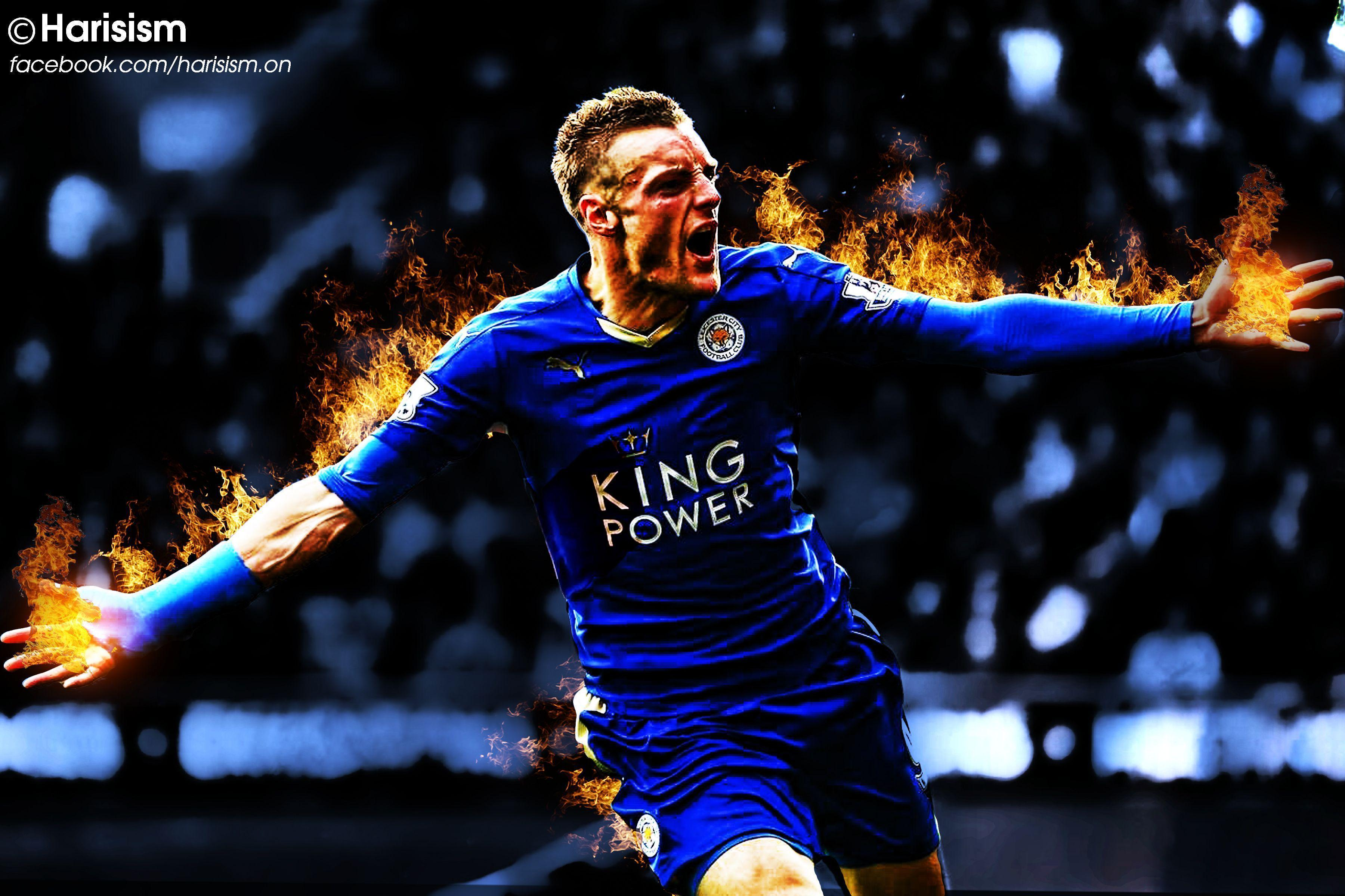 Jamie Vardy Wallpaper 2015/16 by HitMan26 on DeviantArt
