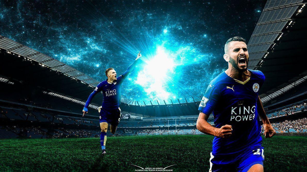 wallpaper for riyad mahrez and jamie vardy - HD Wallpapers, HD ...