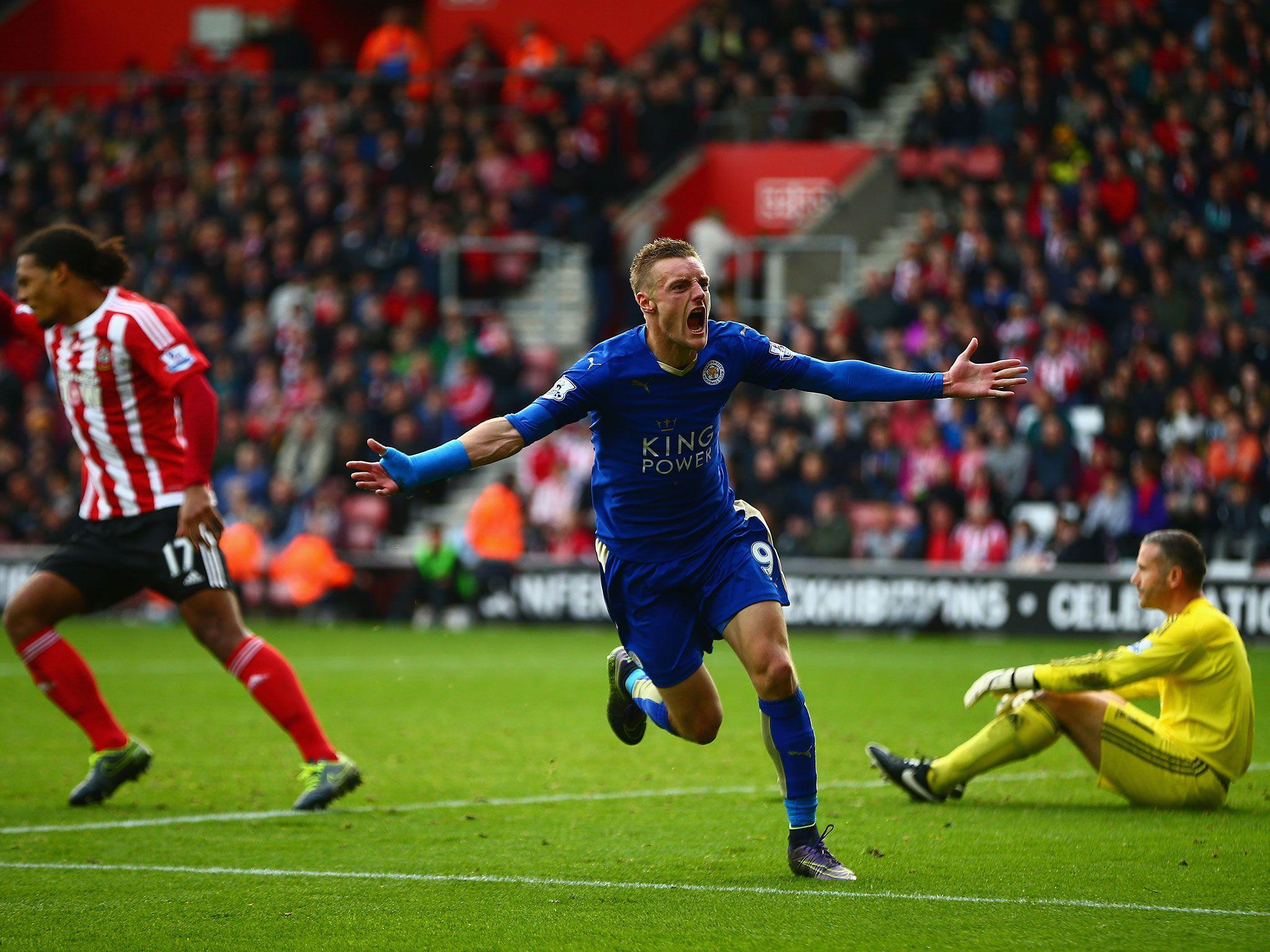Southampton vs Leicester City match report: Jamie Vardy double ...
