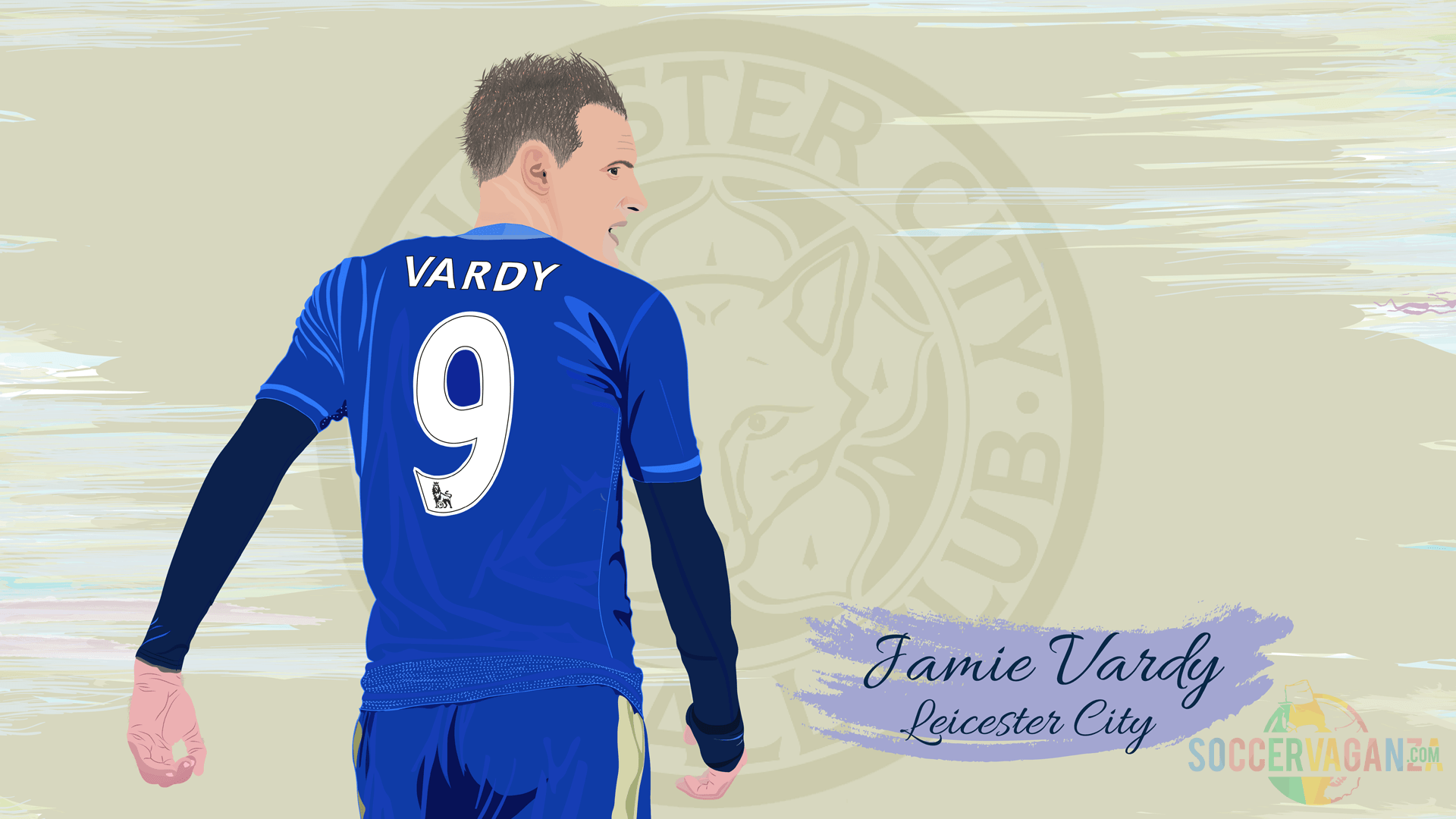 Jamie Vardy by SoccerVaganza on DeviantArt