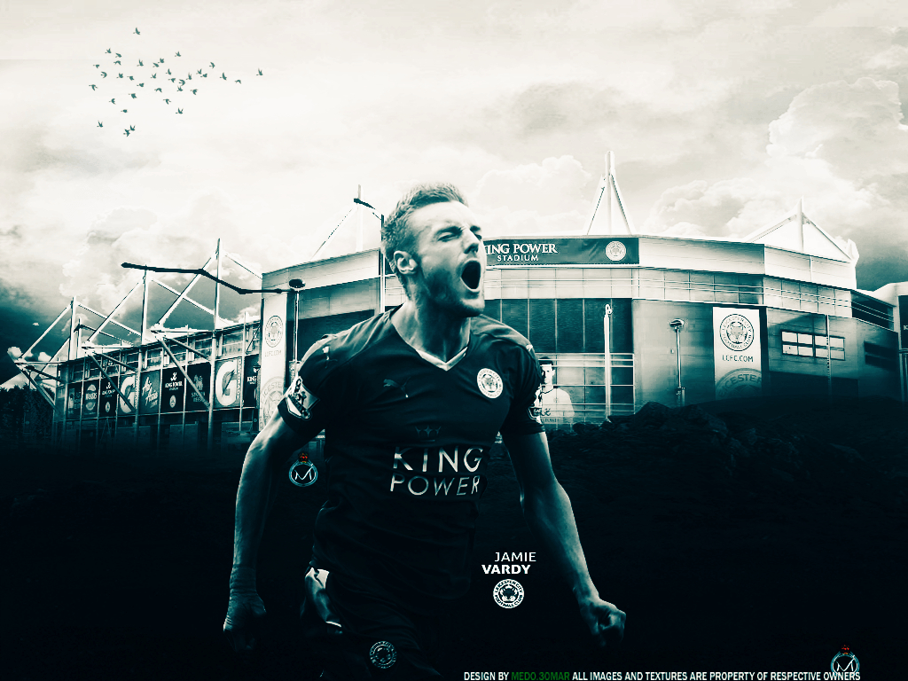 Jamie Vardy Wallpaper by Medo3omarGfx on DeviantArt