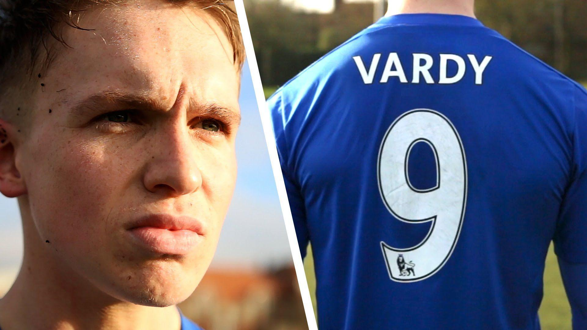 Jamie Vardy Striker Challenge - YouTube