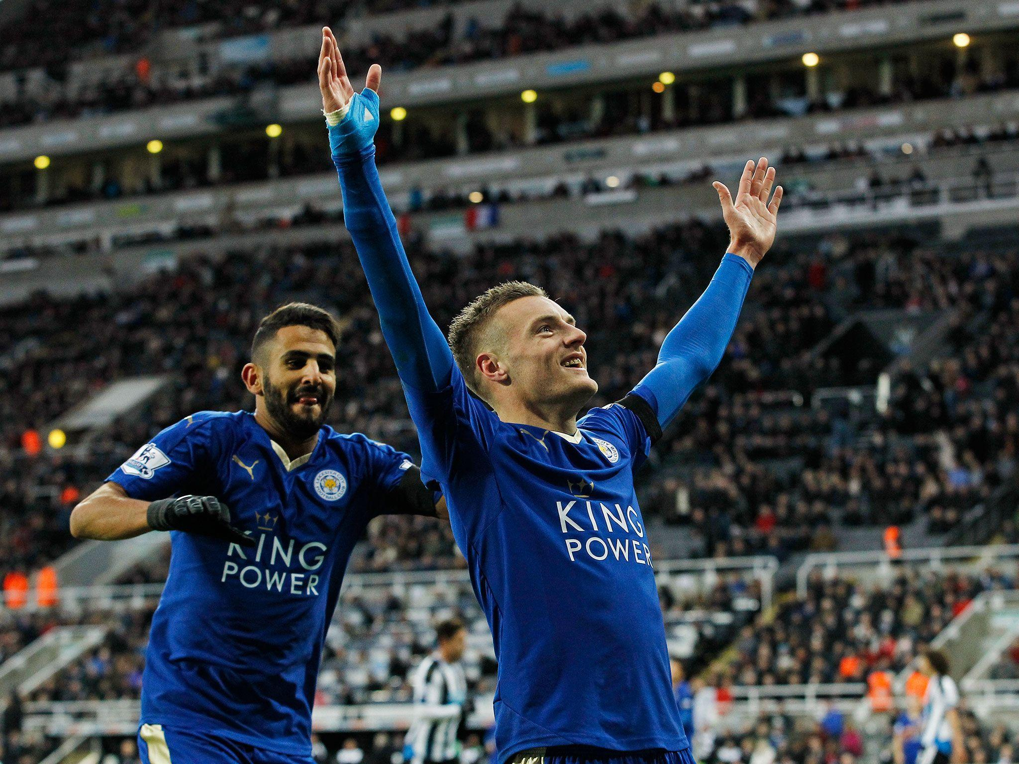 Newcastle United vs Leicester City: Jamie Vardy steps out of ...