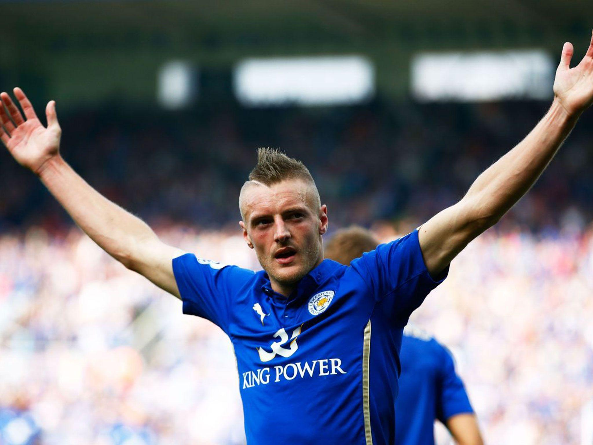 Late developer Jamie Vardy revels in a true rags to riches tale ...
