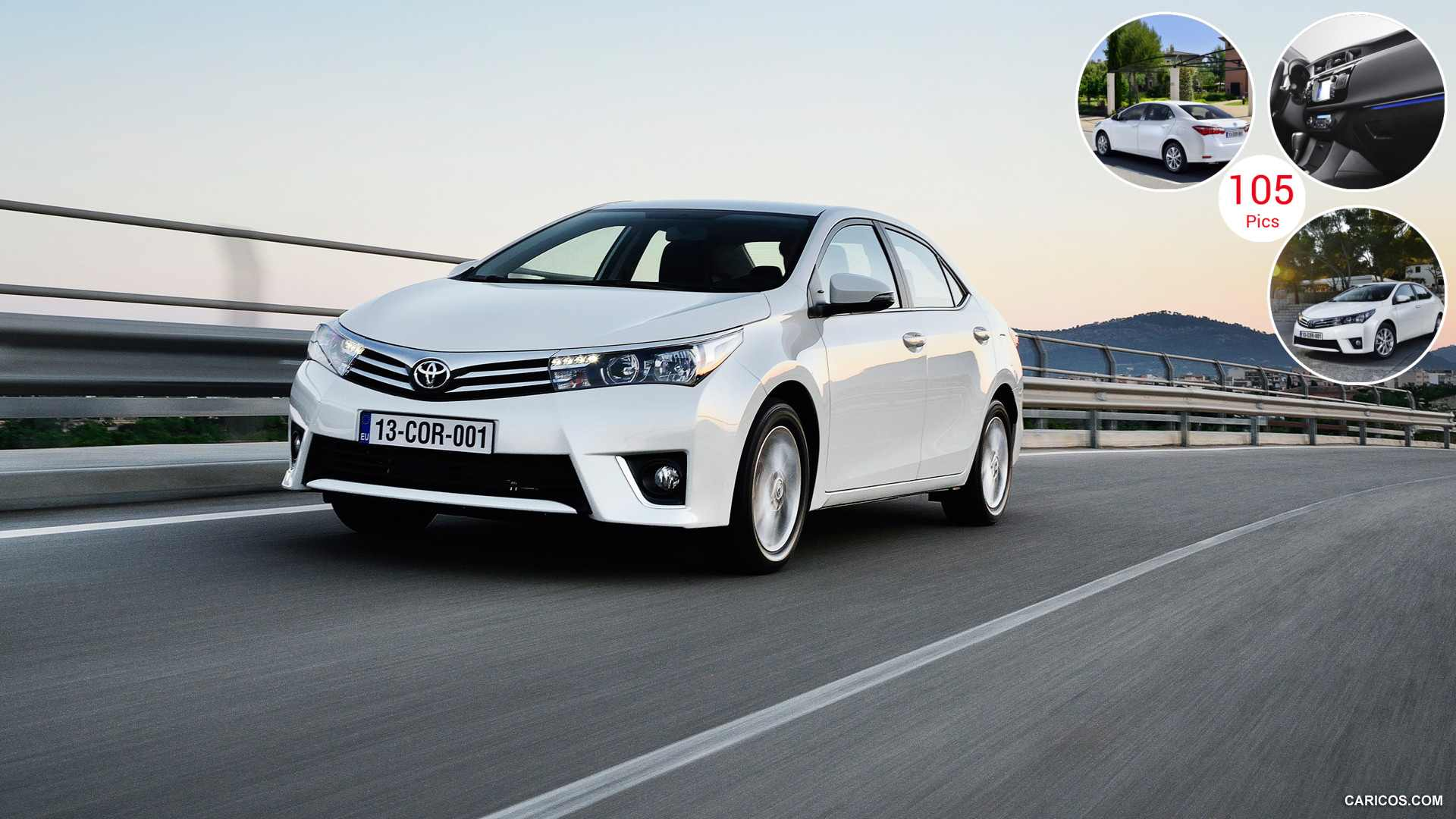 2014 Toyota Corolla (Euro-Version) - Front | HD Wallpaper #10
