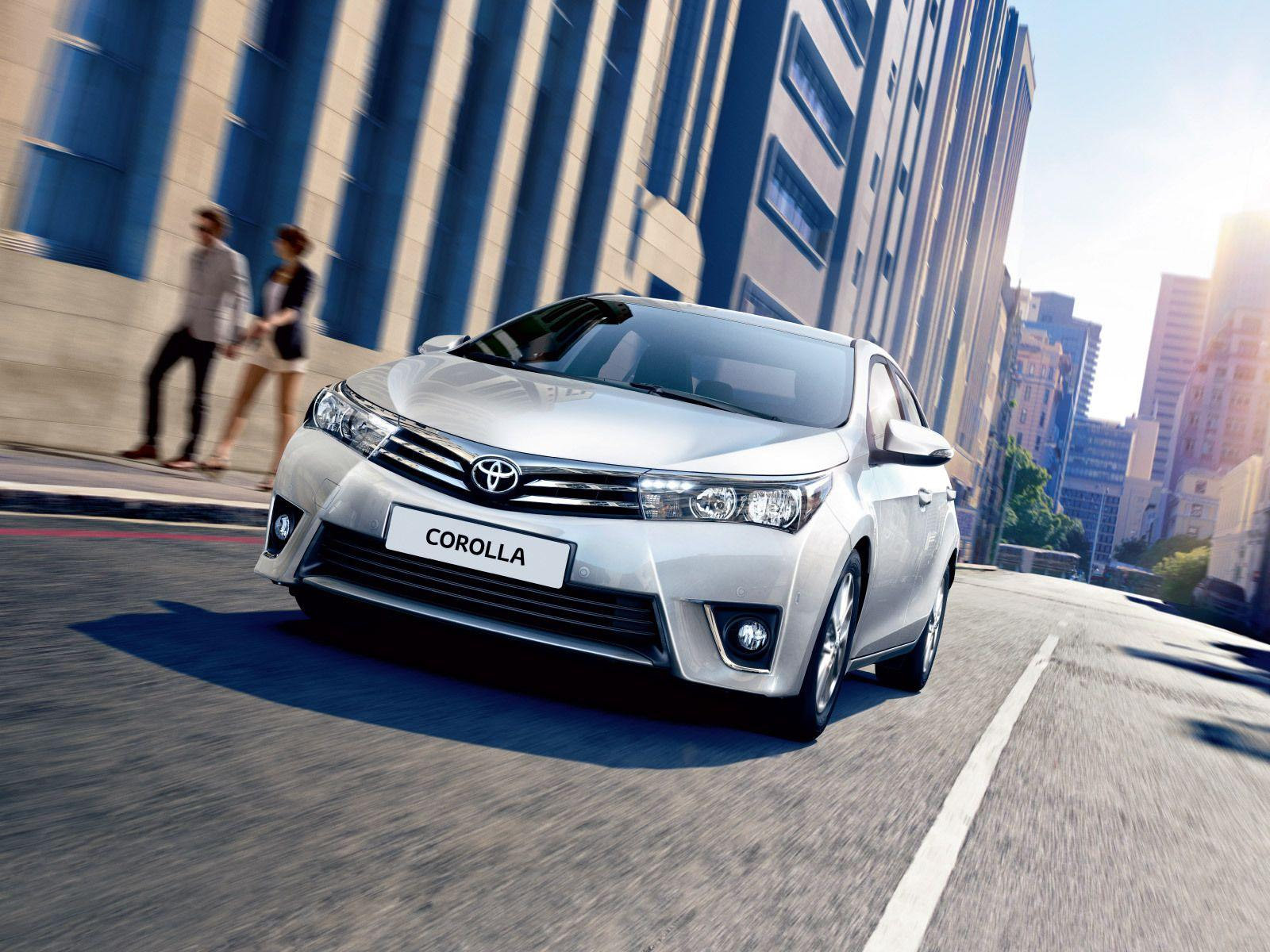 Beautiful car Toyota Corolla 2014 wallpapers and images ...