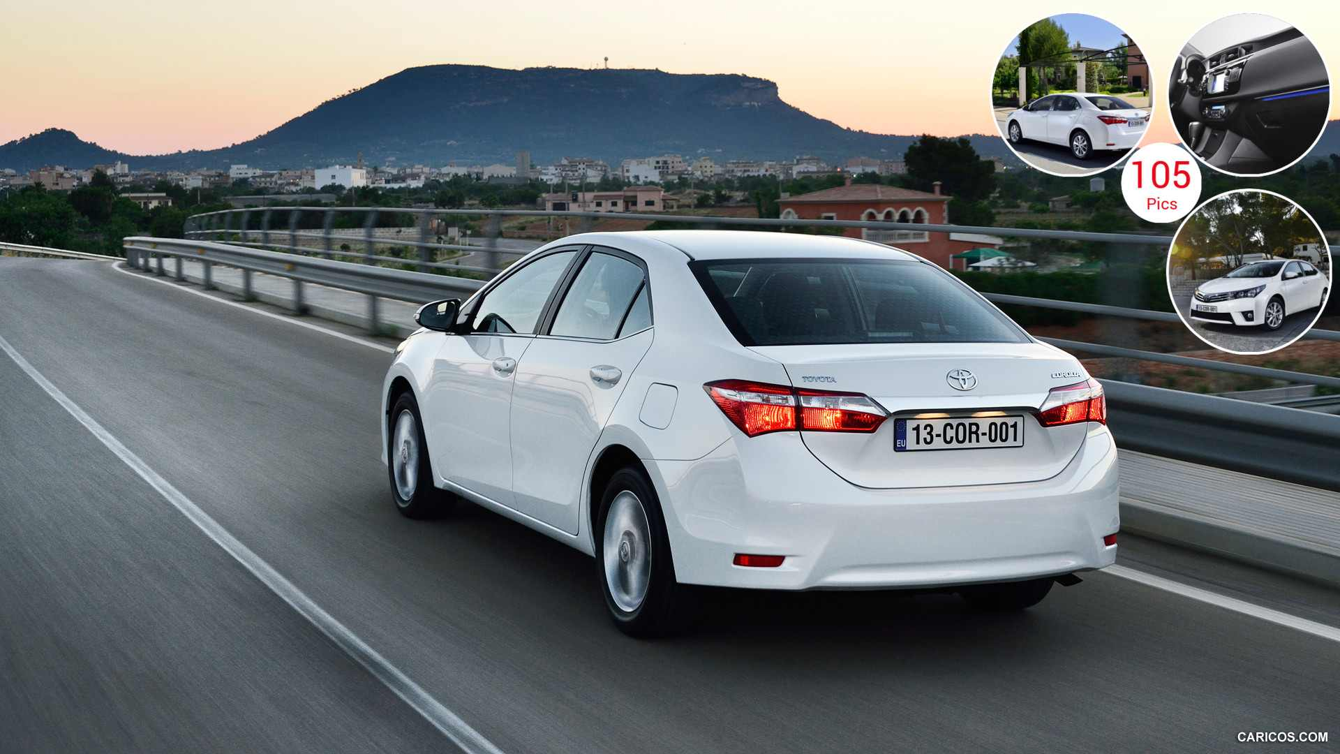 2014 Toyota Corolla (Euro-Version) - Rear | HD Wallpaper #9