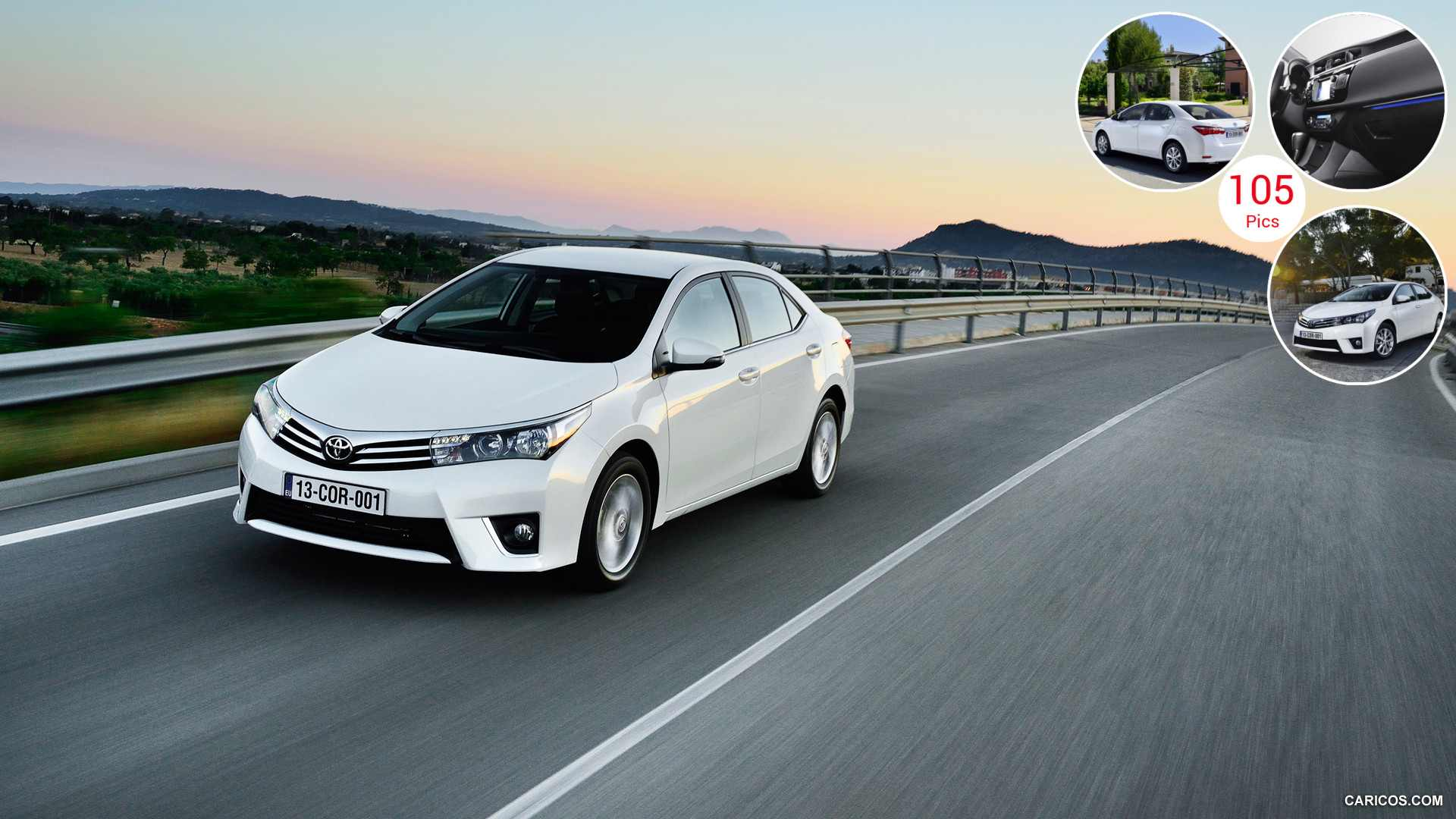 2014 Toyota Corolla (Euro-Version) - Front | HD Wallpaper #12