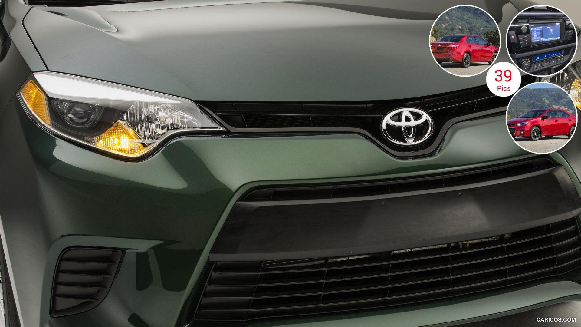 2014 Toyota Corolla LE Eco - Grill | HD Wallpaper #28