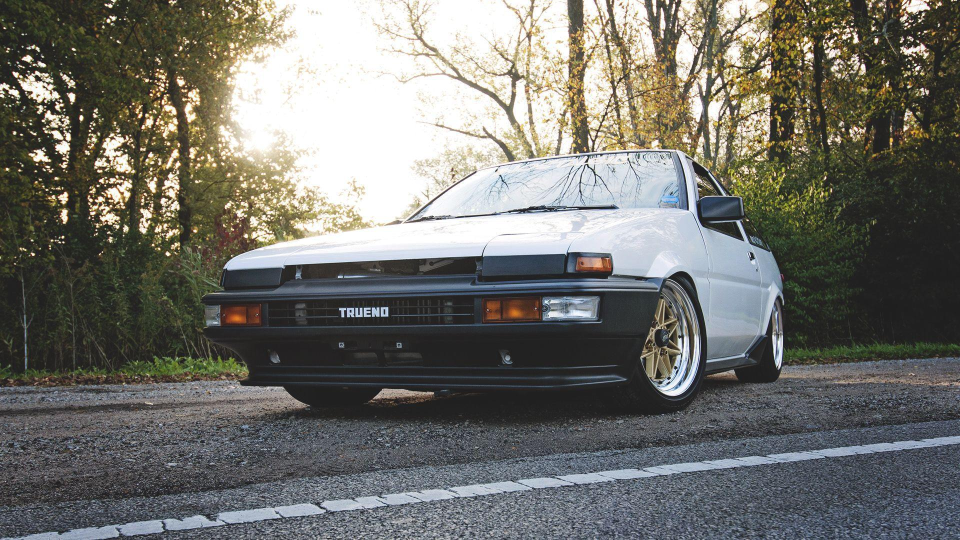 Download Wallpaper 1920x1080 Toyota, Corolla, Ae86, Trueno Full HD ...