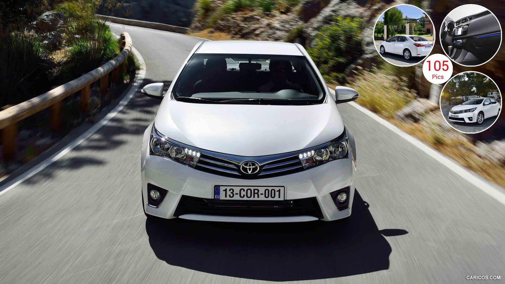 2014 Toyota Corolla (Euro-Version) - Front | HD Wallpaper #26