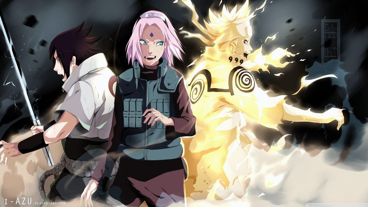Team 7 Naruto Shippuden Reunited HD desktop wallpaper : High ...