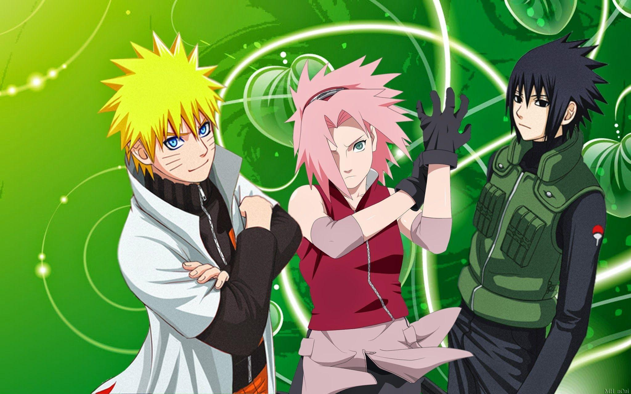 Naruto Wallpapers Team 7 Wallpapers Phone : Cartoon Wallpaper ...