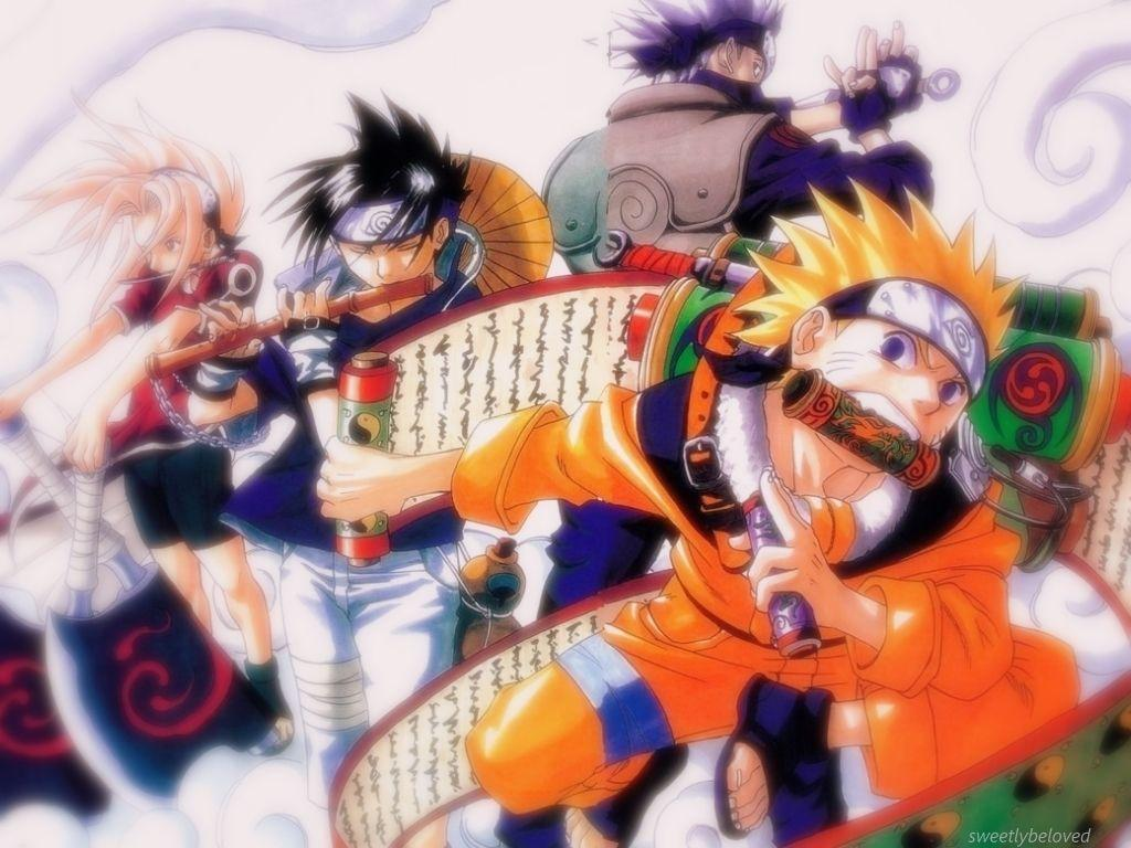 Wallpaper of Team 7 for fans of Naruto. - Visit now for 3D Dragon ...