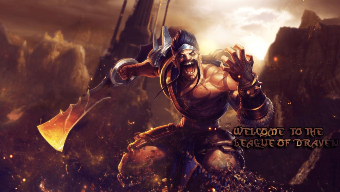 Draven League of Legends Wallpaper, Draven Desktop Wallpaper