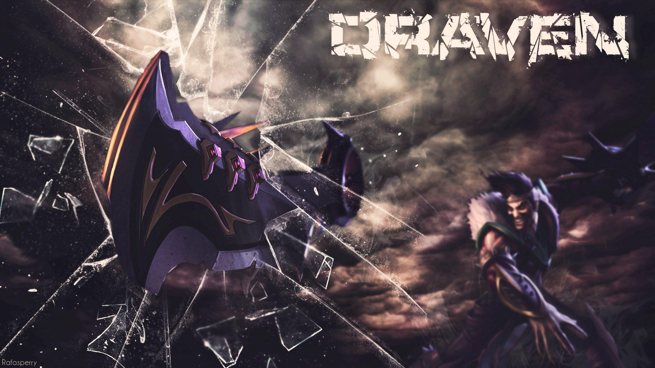 League Of Legends Draven Wallpapers Free : Game Wallpaper ...