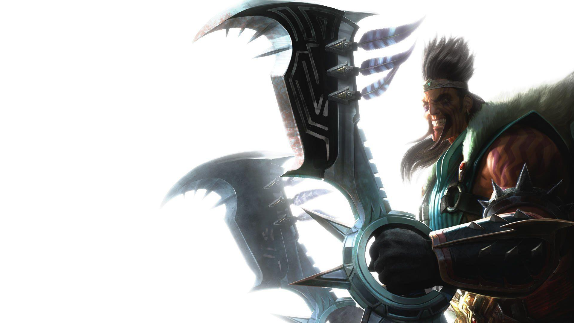 League Of Legends Draven Wallpapers Background : Game Wallpaper ...