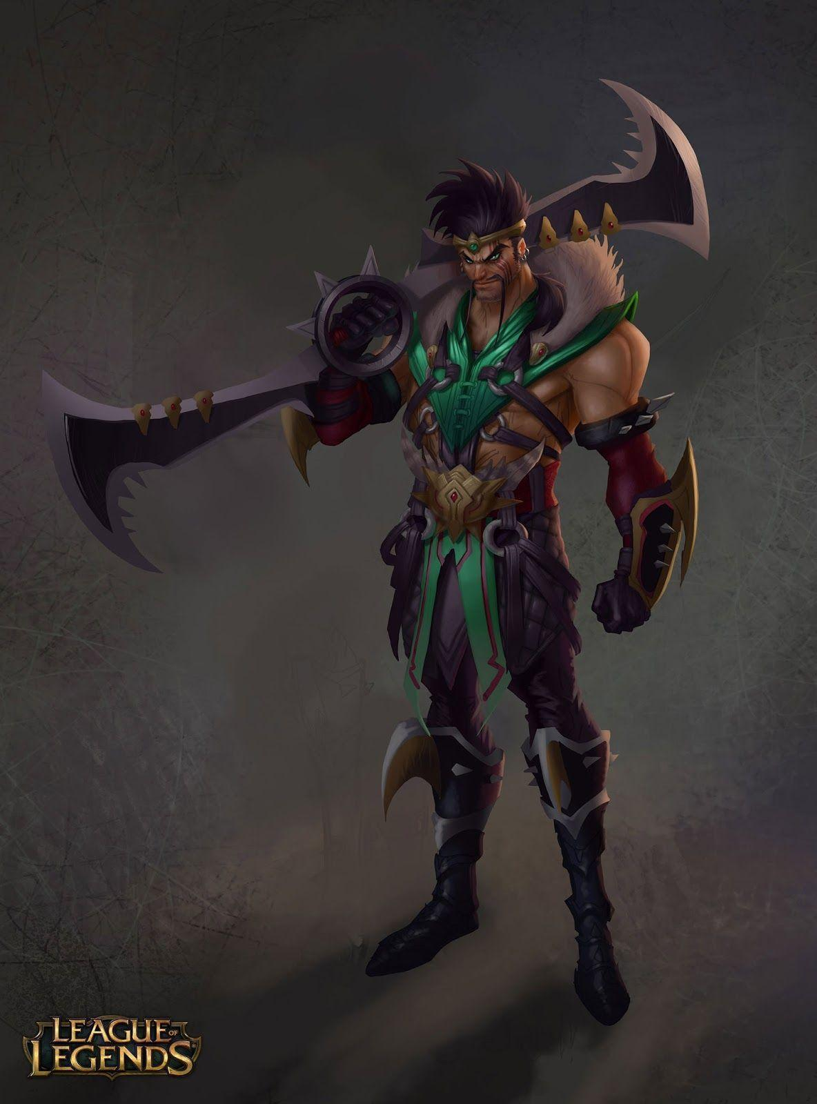 Draven - League Of Legends Wallpaper