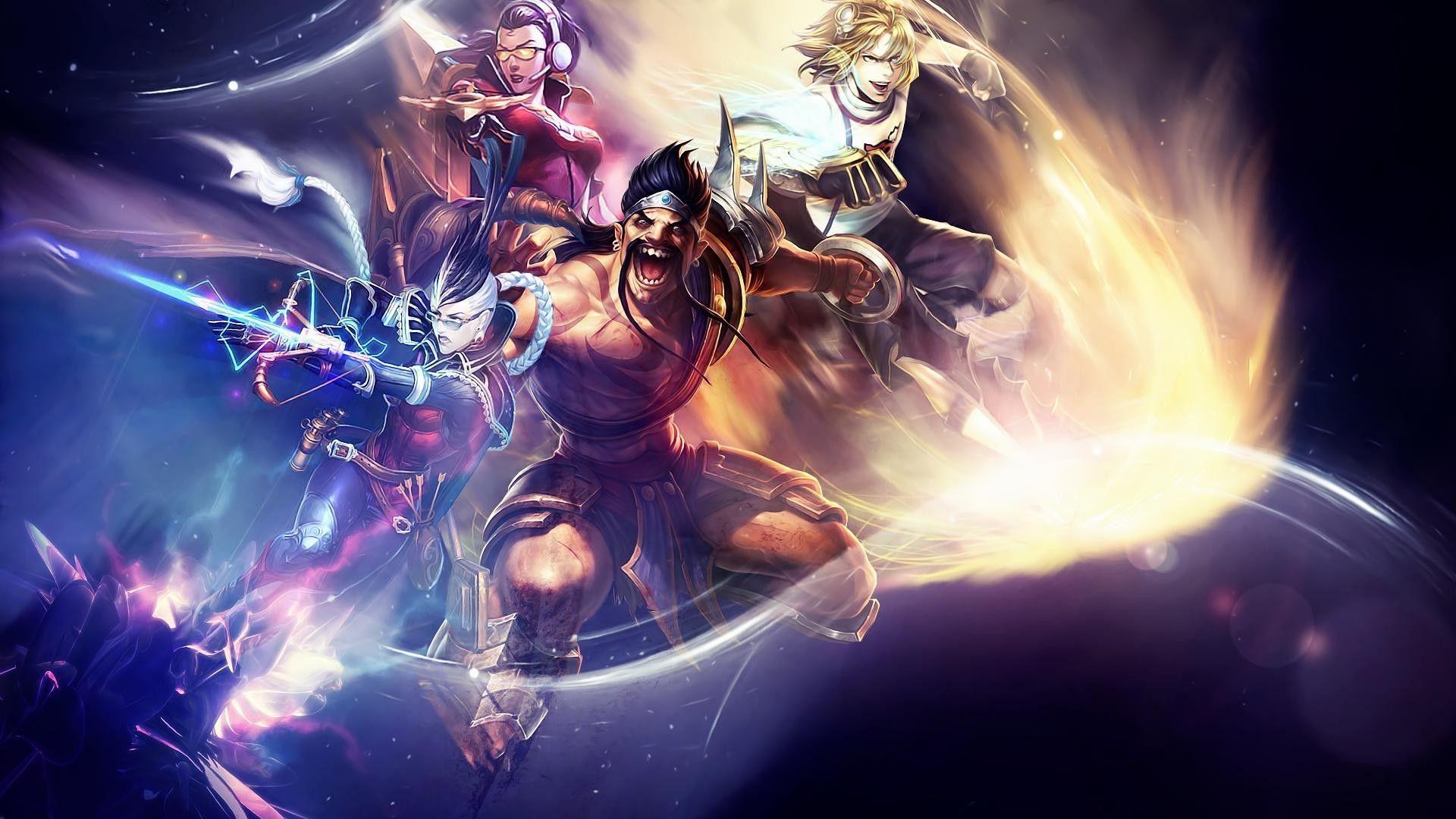 League Of Legends, Draven, Vayne, Ezreal Wallpapers HD / Desktop ...