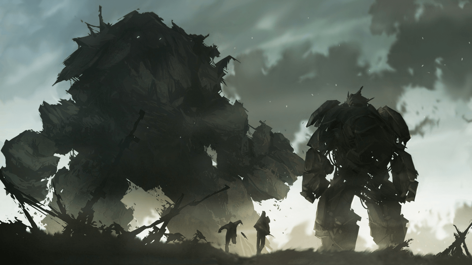 Shadow Of The Colossus Wallpapers Wallpaper Cave