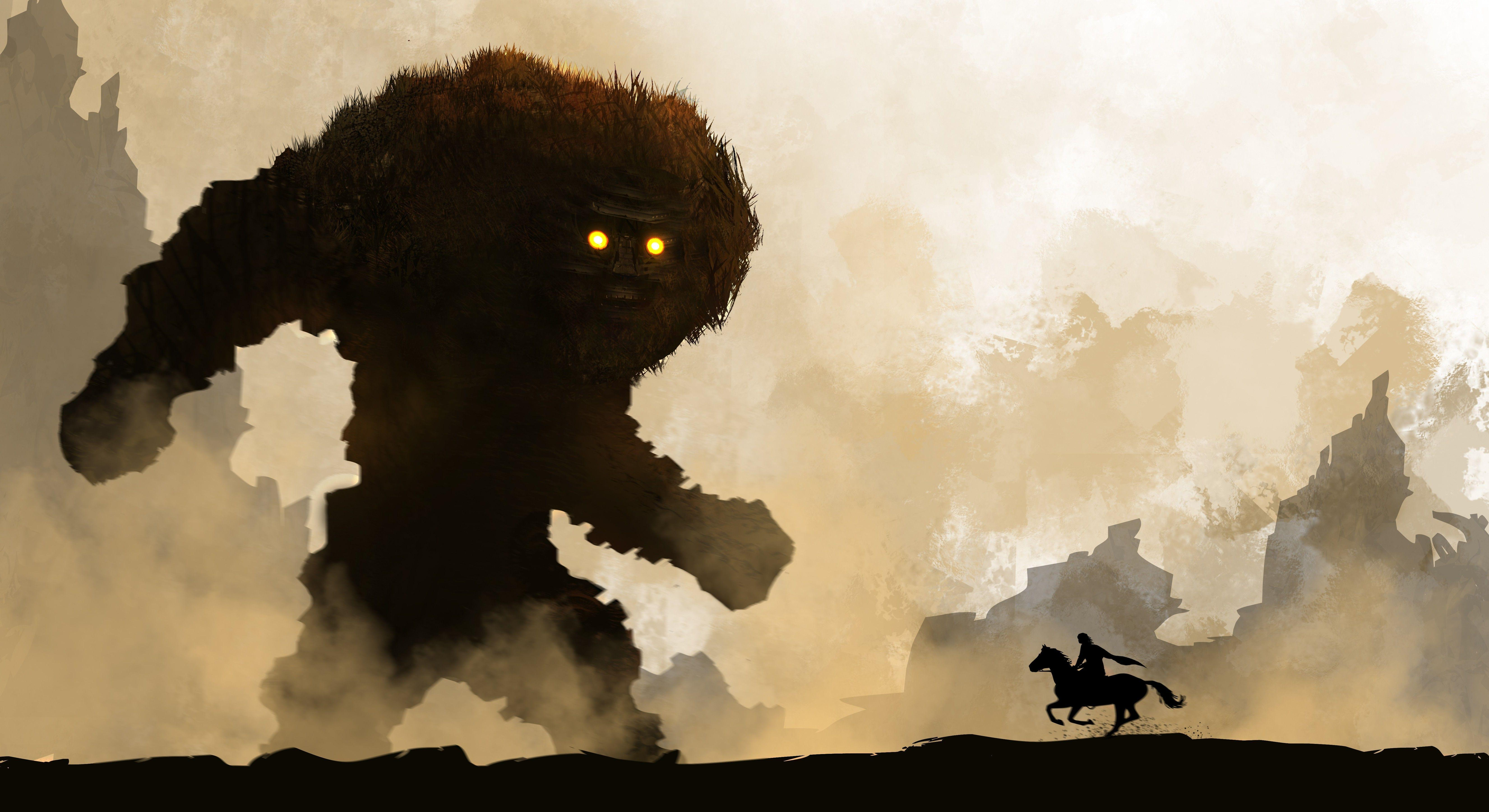 fantasy Art, Creature, Horse, Warrior, Shadow Of The Colossus ...