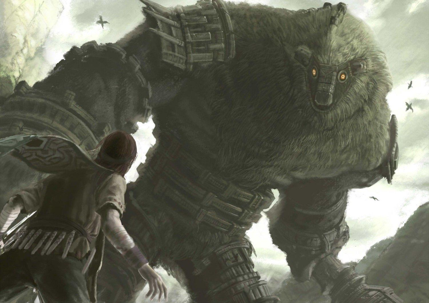 Shadow Of The Colossus, Wander, Video Games, Colossus, Creature ...