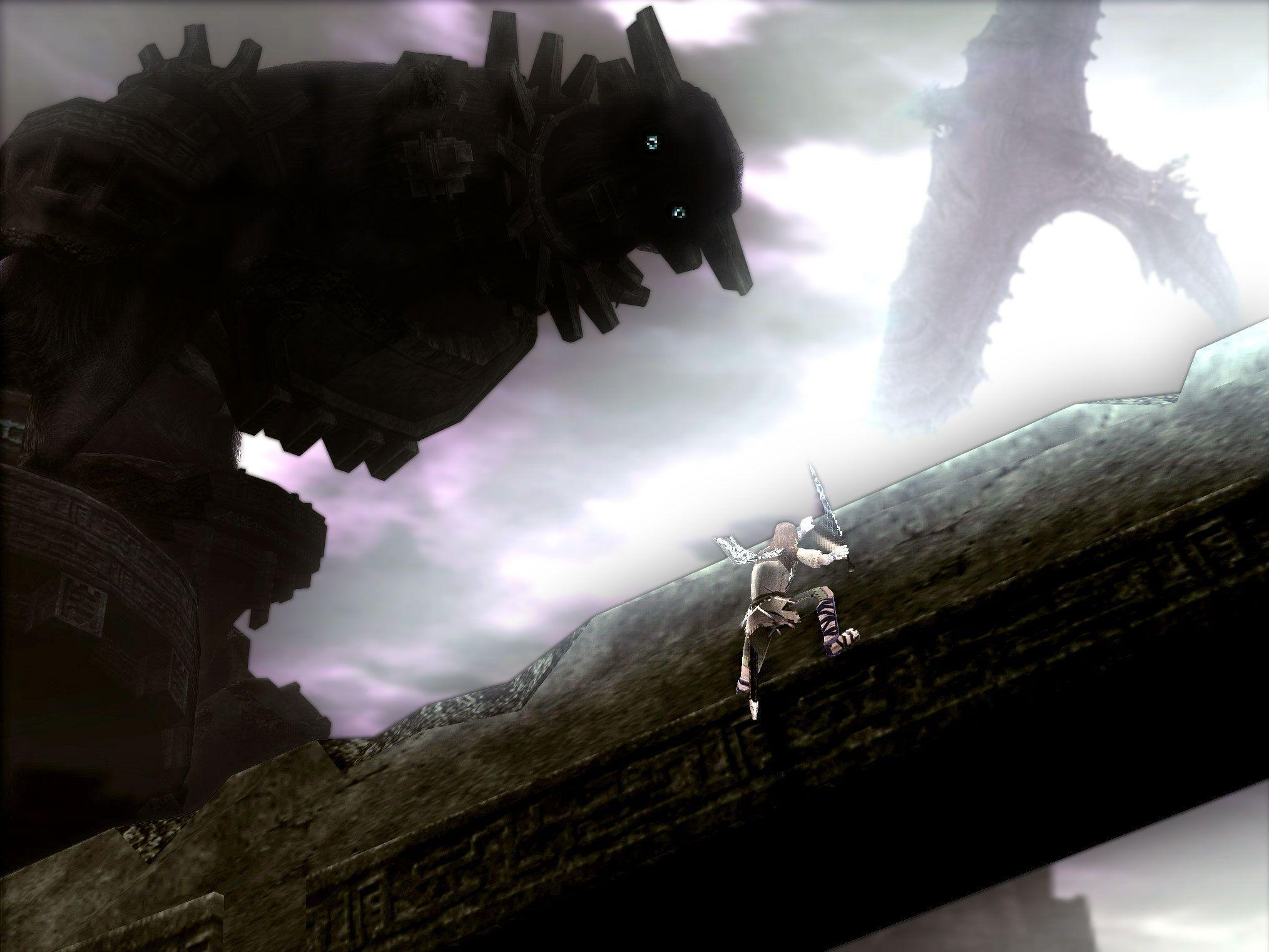 Shadow of the Colossus images Dont fall off HD wallpaper and ...