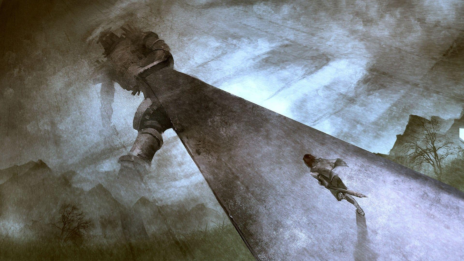 Wallpaper #14, wallpaper from Shadow of the Colossus ...
