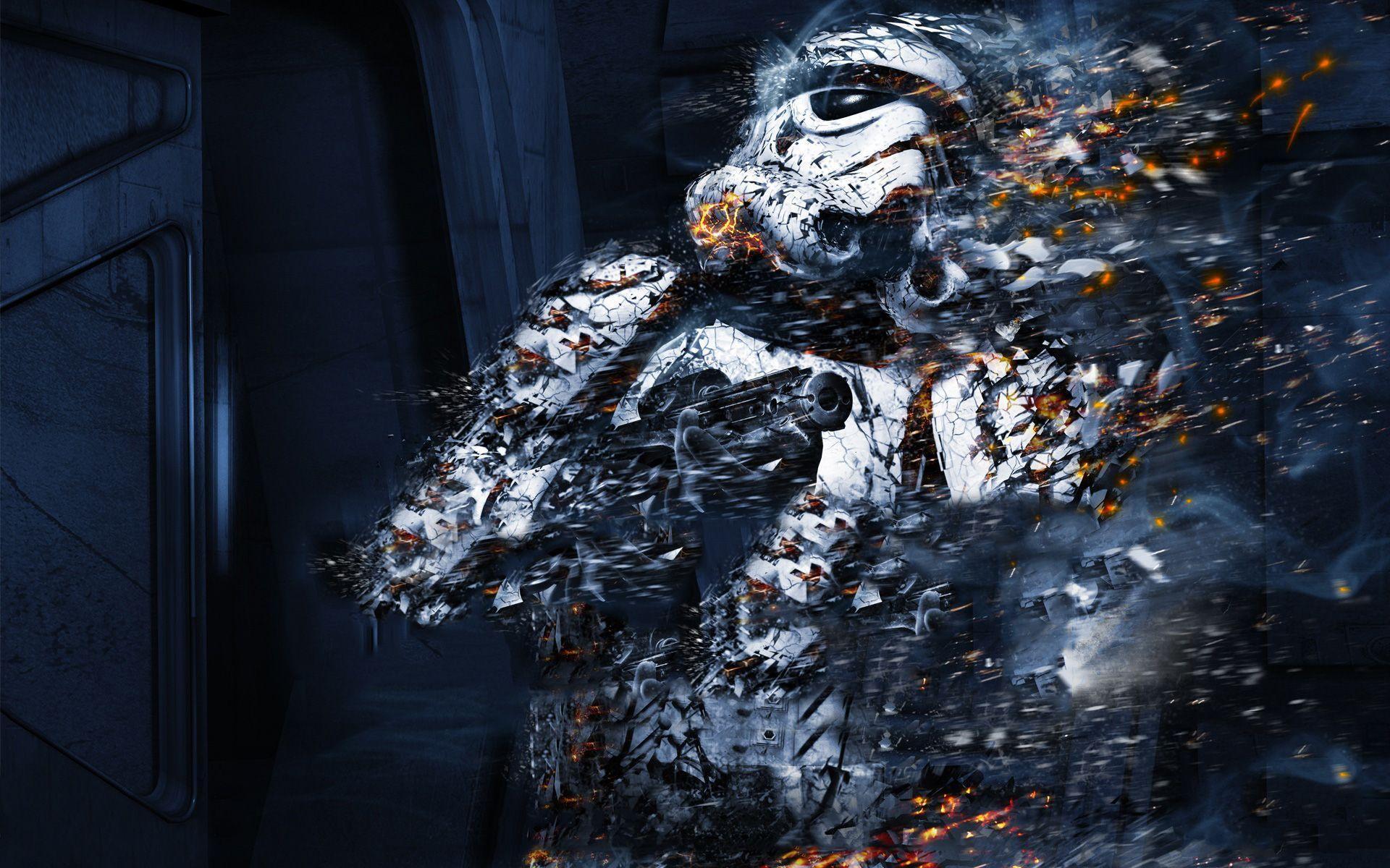 Sci Fi Star Wars Stormtrooper Wallpaper | Star Wars | Pinterest ...