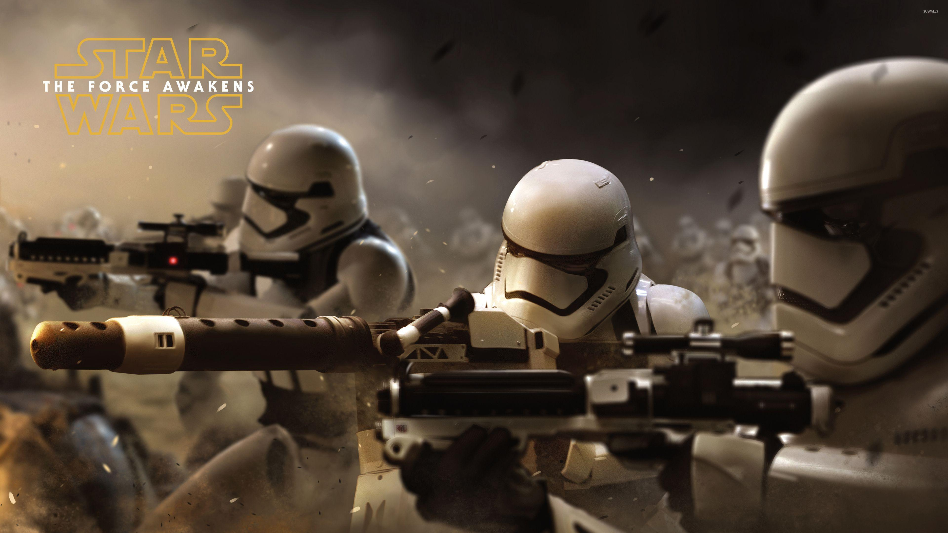 Stormtroopers in Star Wars: The Force Awakens wallpaper - Movie ...