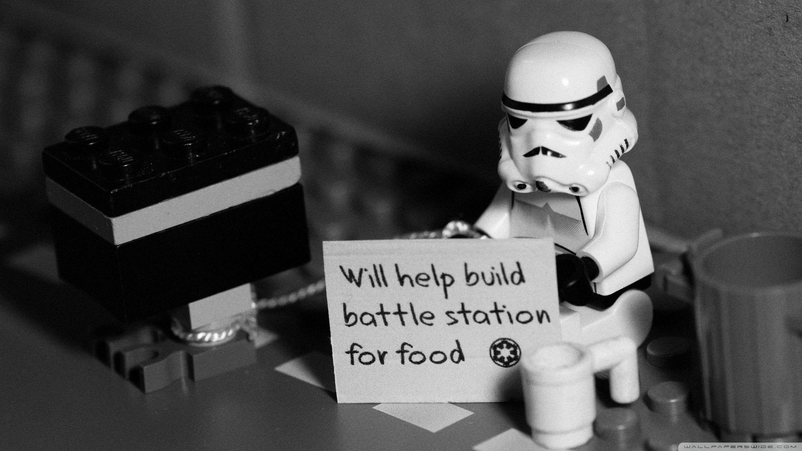 Help For A Stormtrooper HD desktop wallpaper : Widescreen : High ...