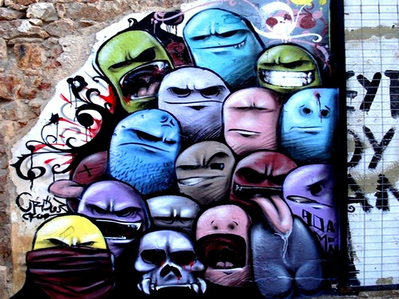 Cool Graffiti Wallpapers - WallpaperSafari
