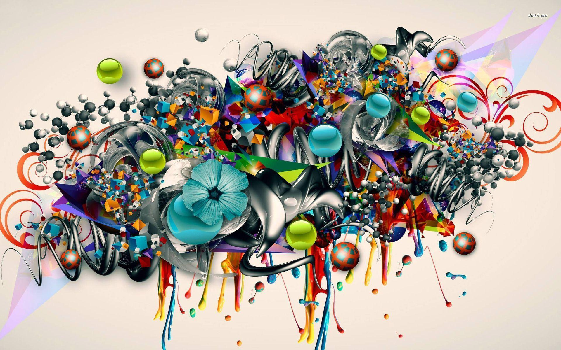 Graffiti Design Art HD Wallpaper for PC | Vignettes/Art ...