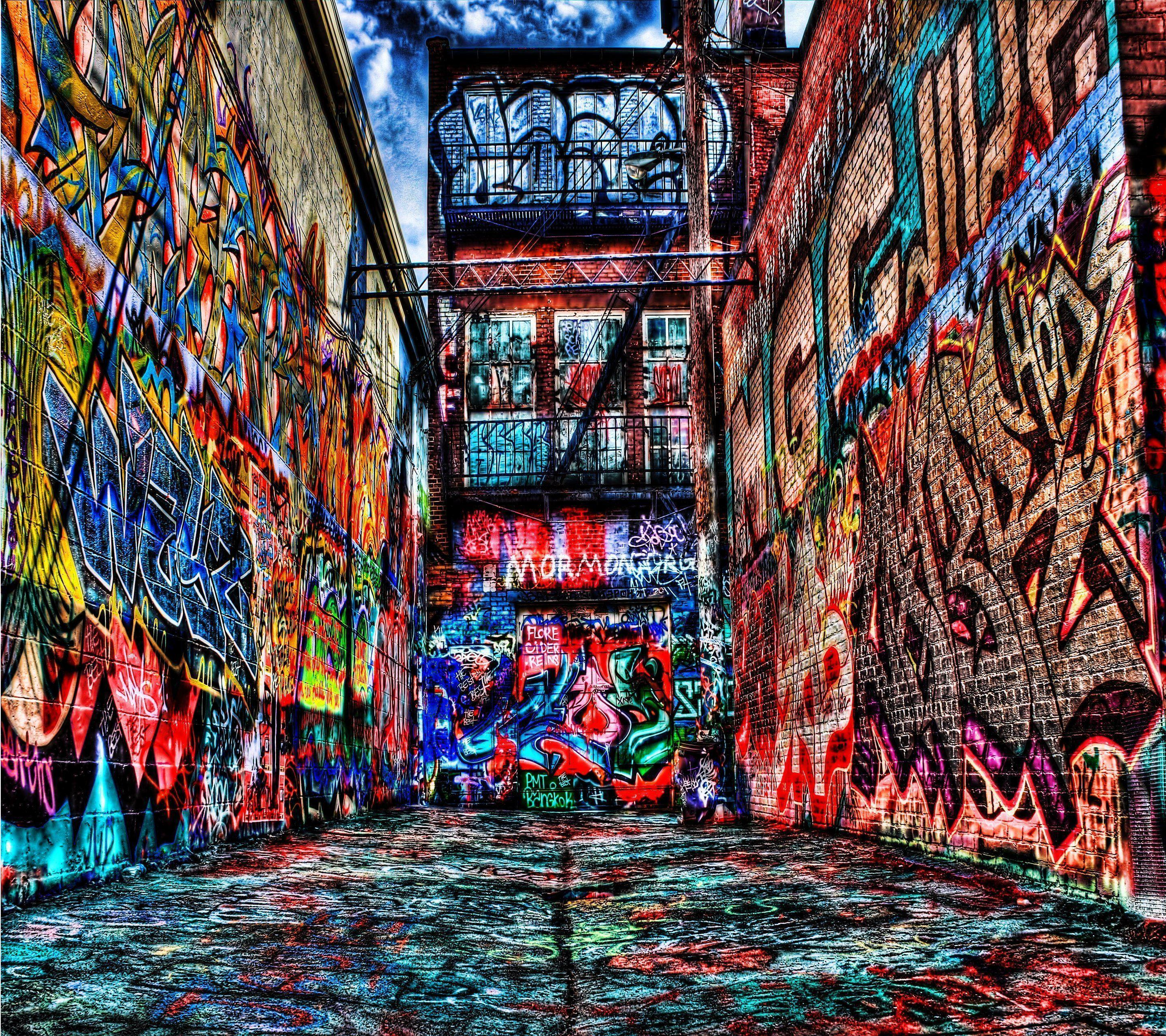Graffiti Wallpaper #3W Artistic Creator #6110 Wallpaper ...