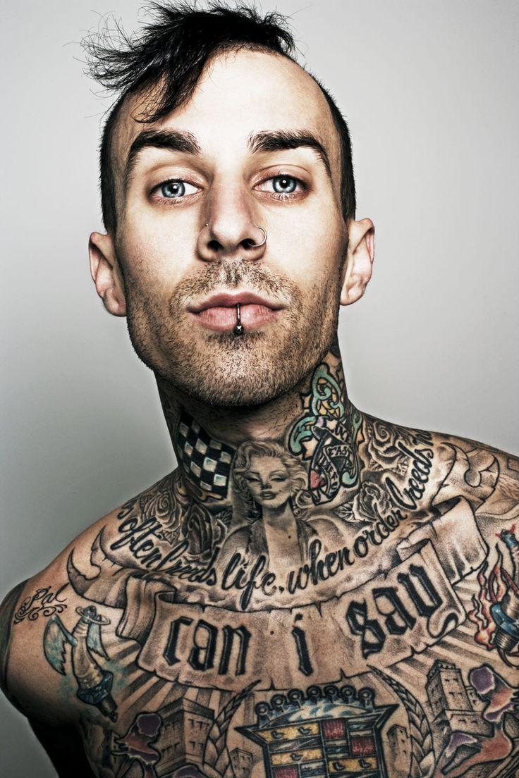 15 Must-see Travis Barker Pins | Sexy tattooed men, Blink 182 and ...