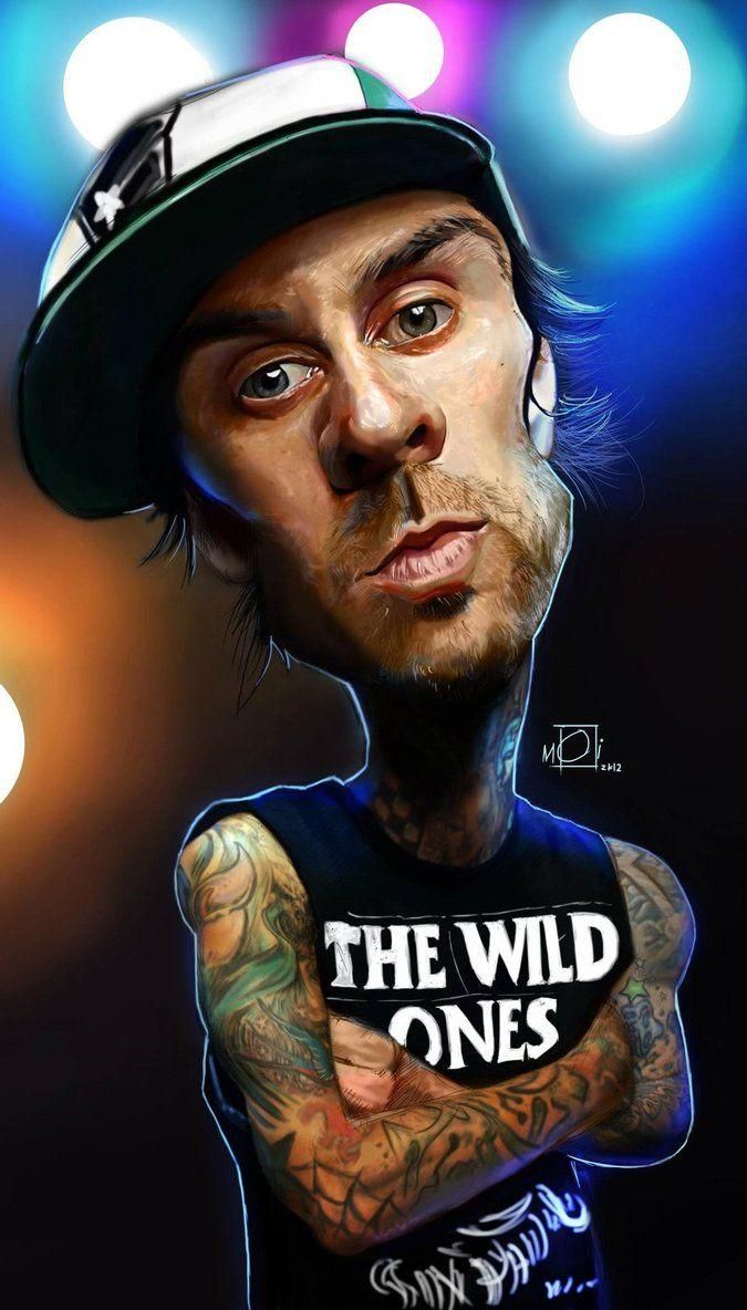 Travis Barker Caricature by shavunei23 on DeviantArt