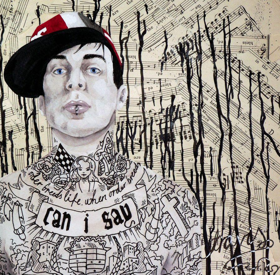 Travis Barker by happy-smiley-robot on DeviantArt