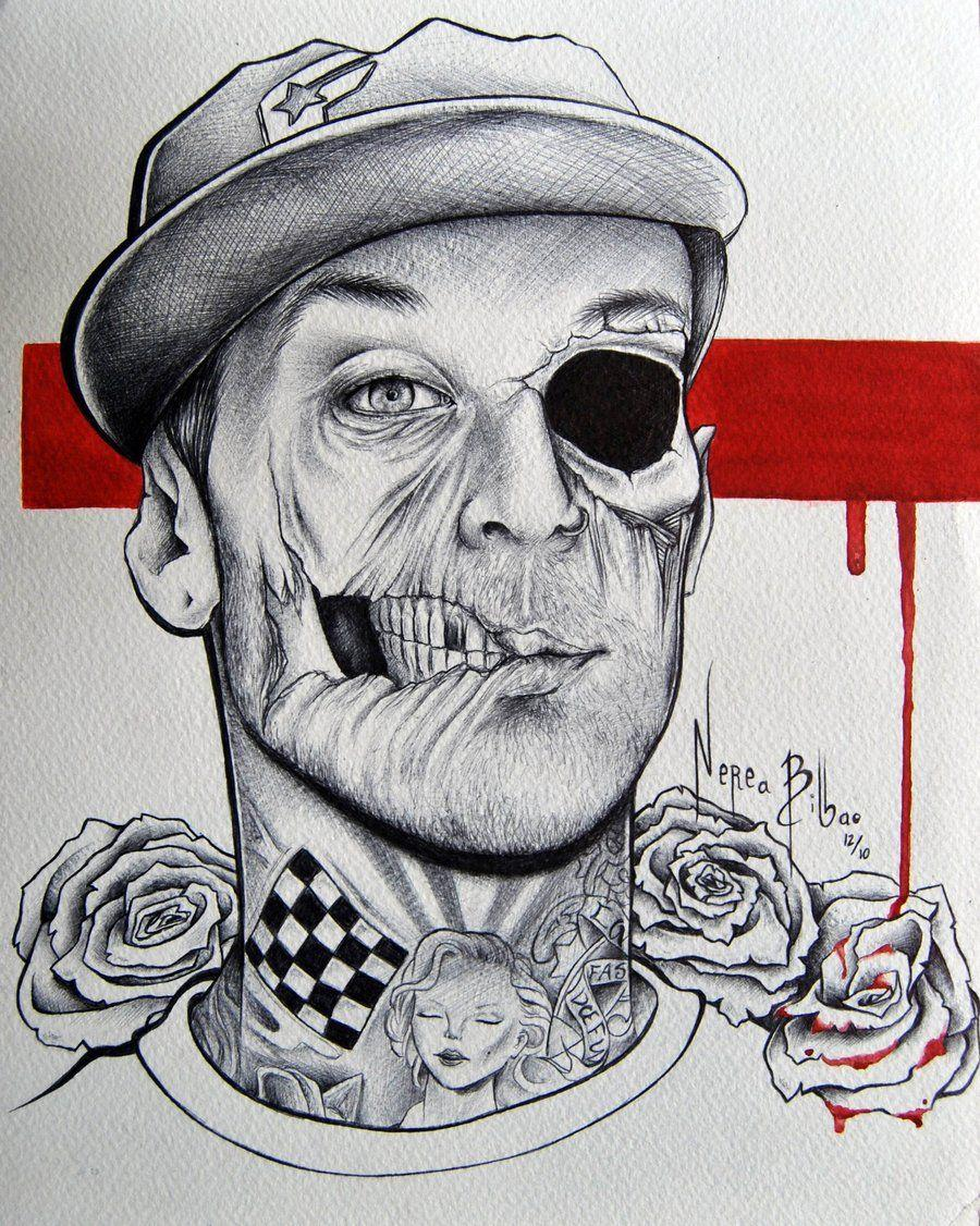 Travis Barker zombie by neretxu7 on DeviantArt