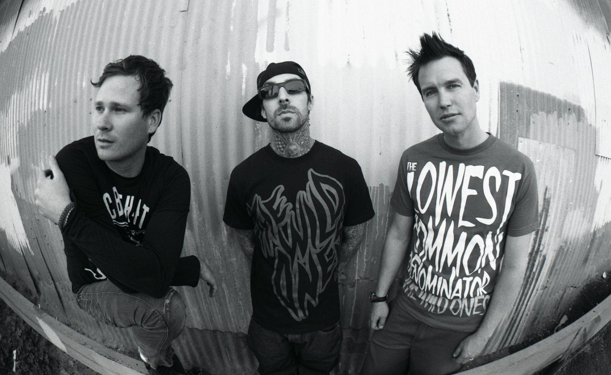 blink punk rock thomas delonge is delong mark hoppus mark hoppus ...