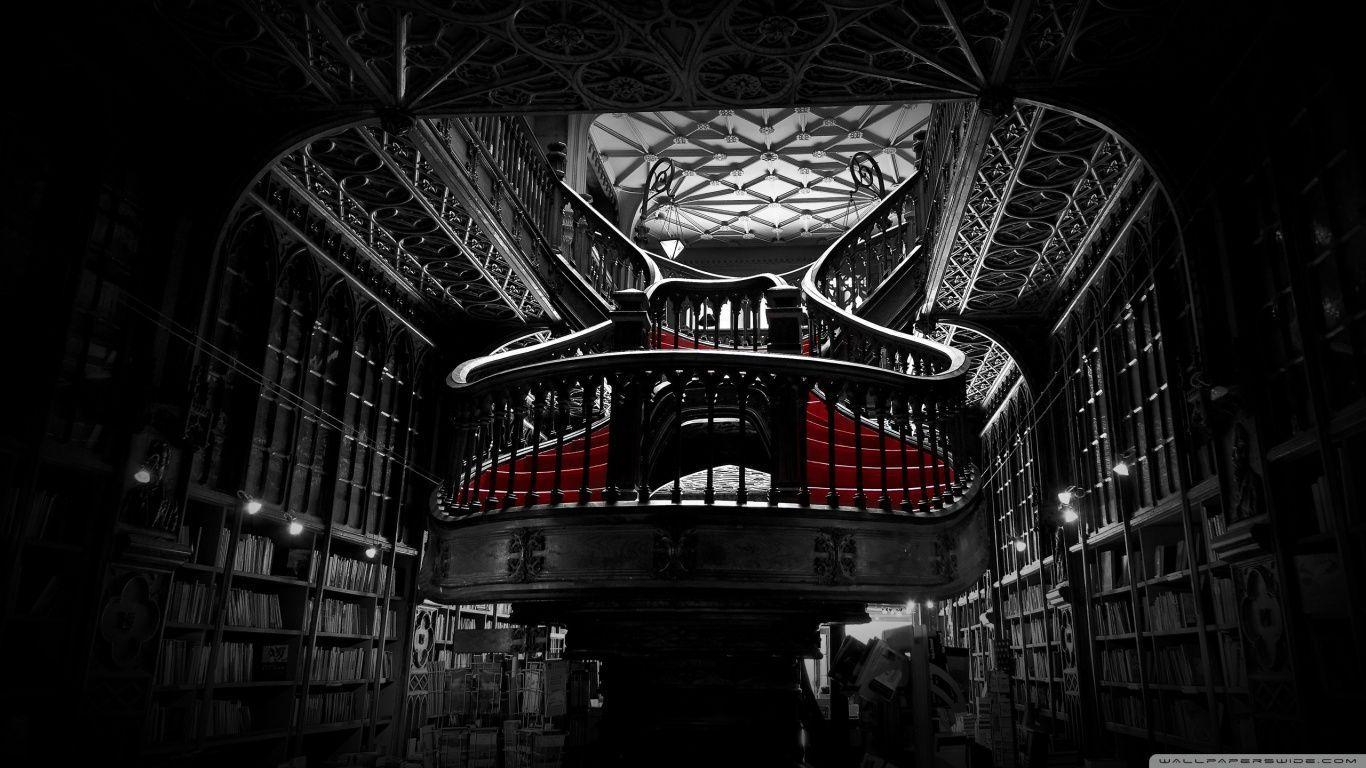 Lello Bookshop in Porto, Portugal HD desktop wallpaper : High ...